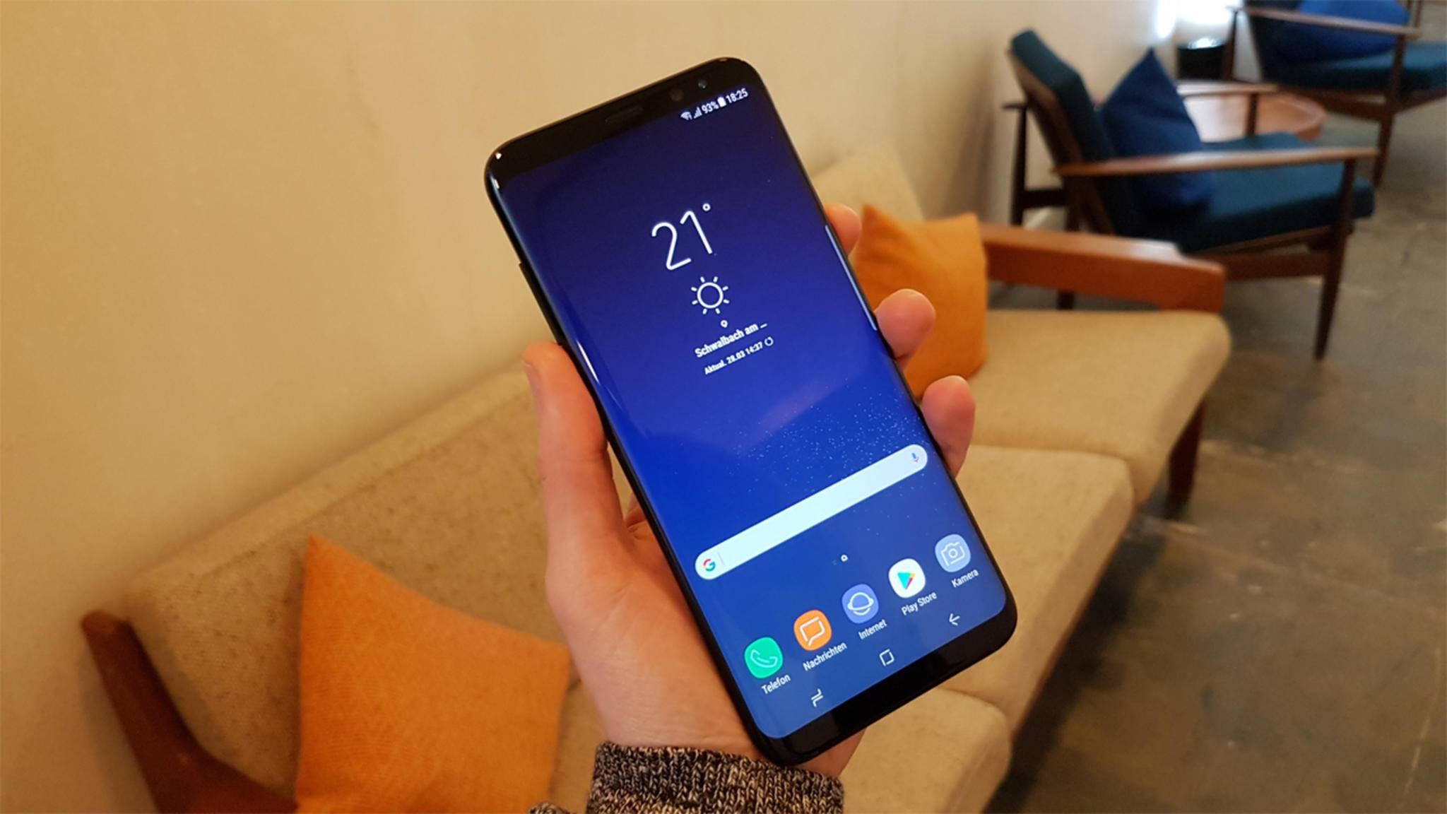 Alle Kunden sollen das Galaxy S8 pünktlich in den Händen halten.