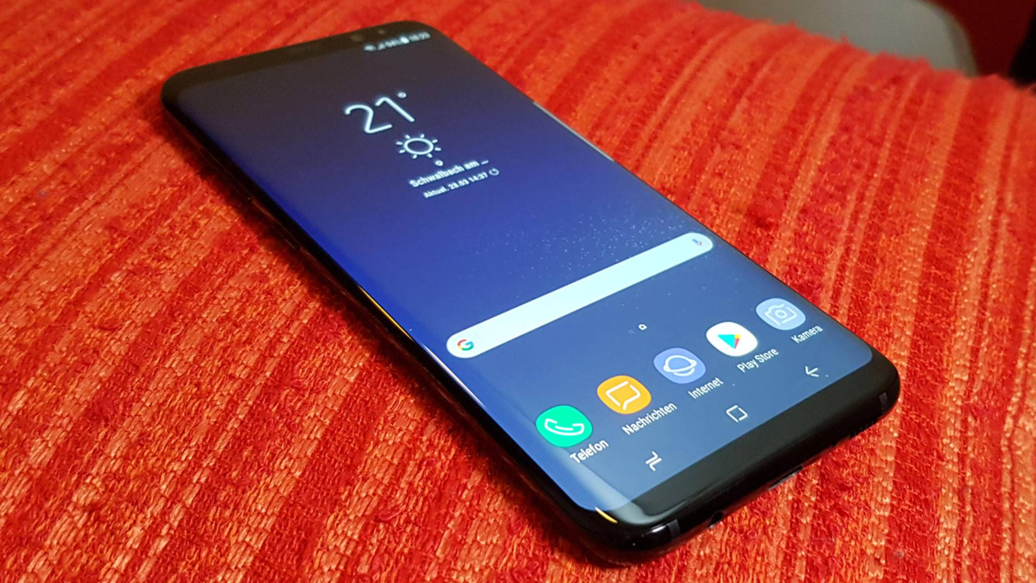 Mit dem Release des Galaxy S8 dürfte Samsung seine Marktdominanz weiter ausbauen.