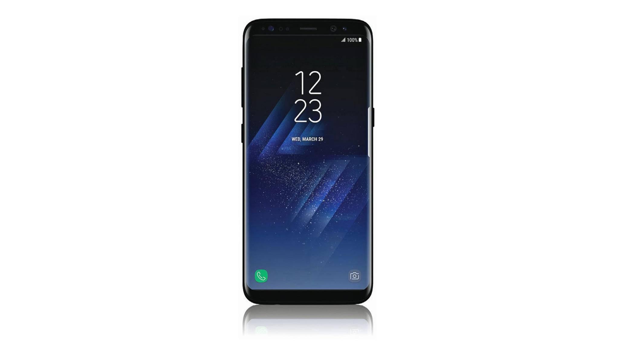 So soll das Galaxy S8 aussehen.