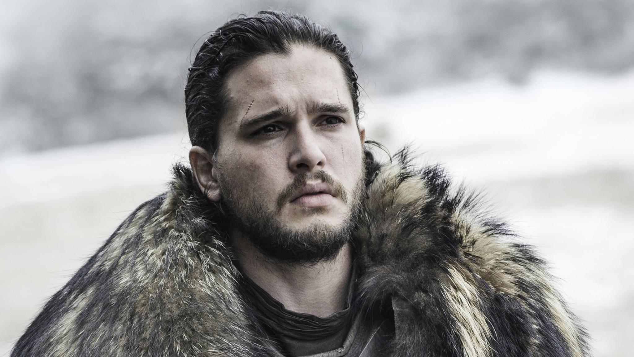 """Da staunt selbst Jon Snow: Bingewatching von """"Game of Thrones"""" ist ein zeitaufwendiges Hobby."""