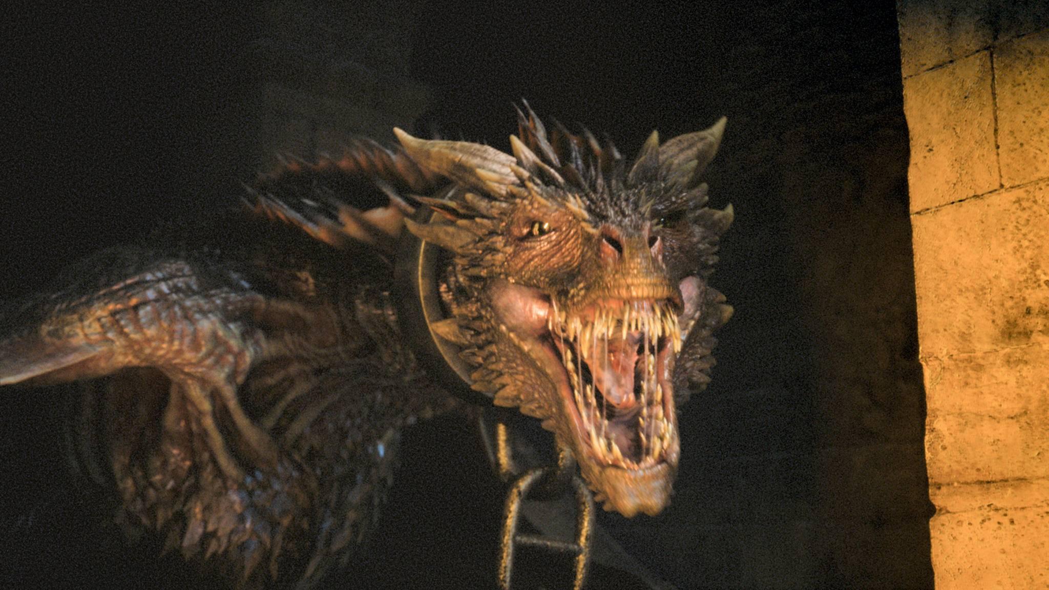 """Die Drachen in """"Game of Thrones"""" werden von Staffel zu Staffel größer."""