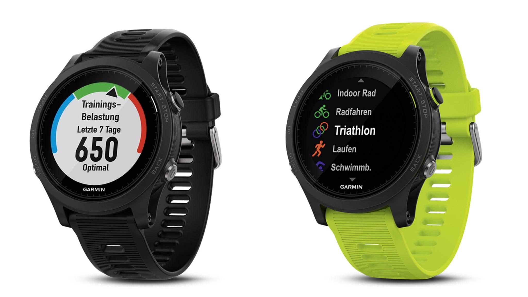 Die Garmin Forerunner 935 wird als High-End GPS-Multisport-Smartwatch beworben.