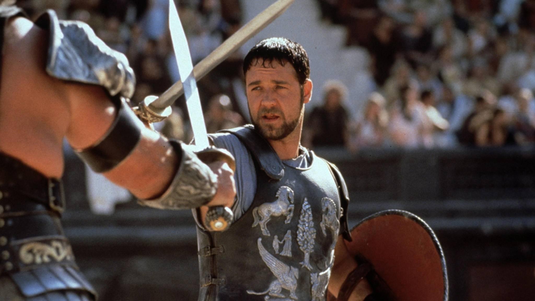 """Könnte Maximus (Russell Crowe) in """"Gladiator 2"""" von den Toten auferstehen?"""