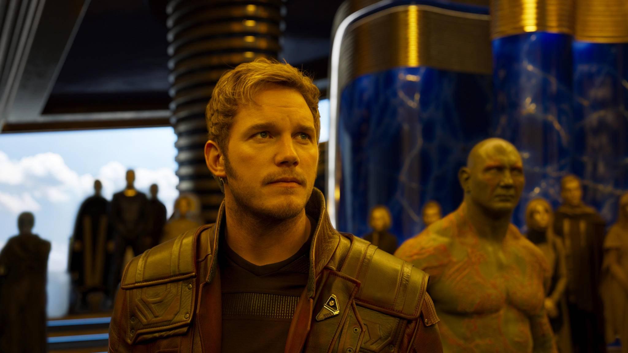 Auch Chris Pratt gehört noch nicht zu den Großverdienern im MCU.