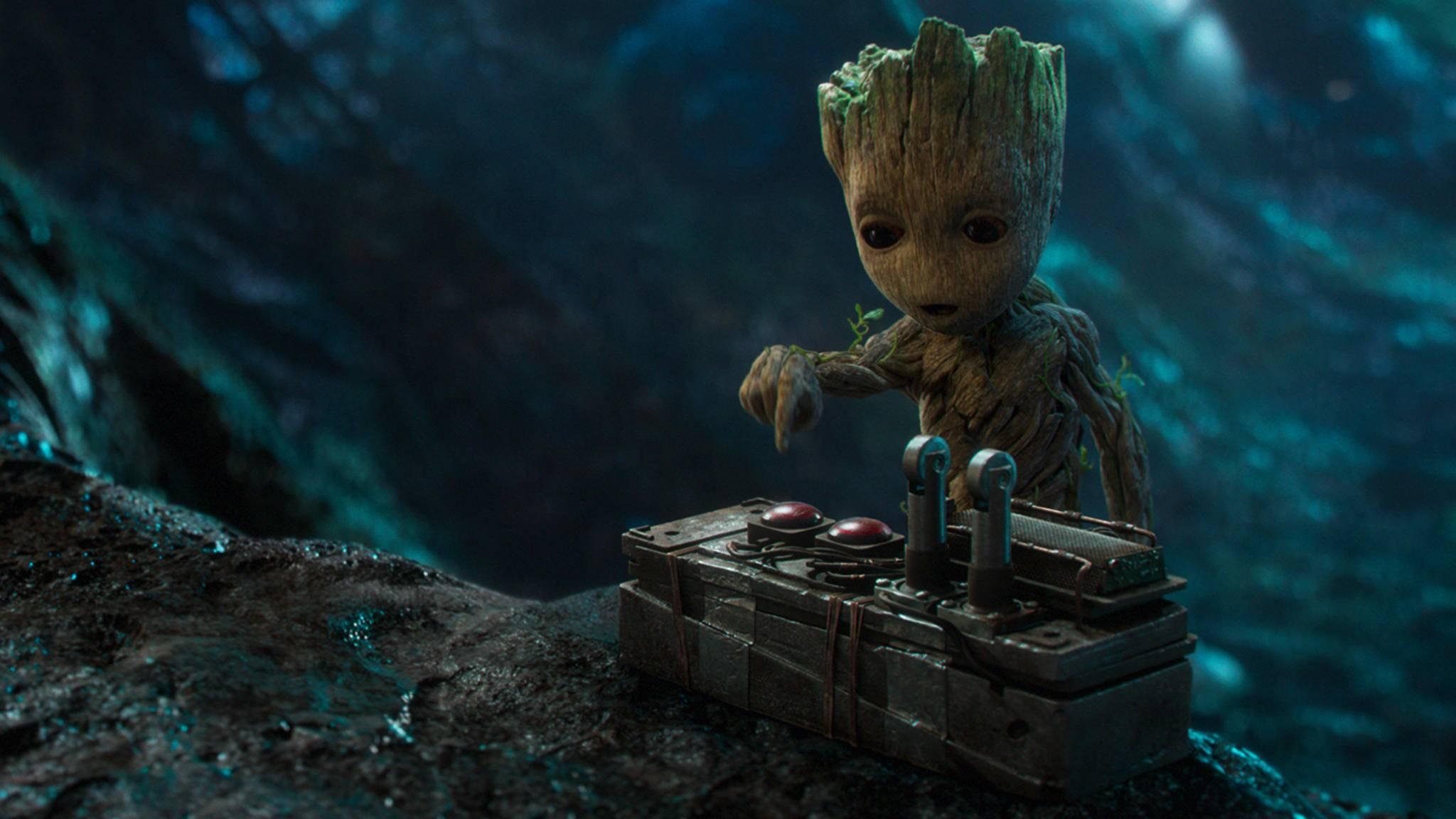 """Natürlich wird es in """"Guardians of the Galaxy 2"""" auch ein Wiedersehen mit Baby Groot geben!"""