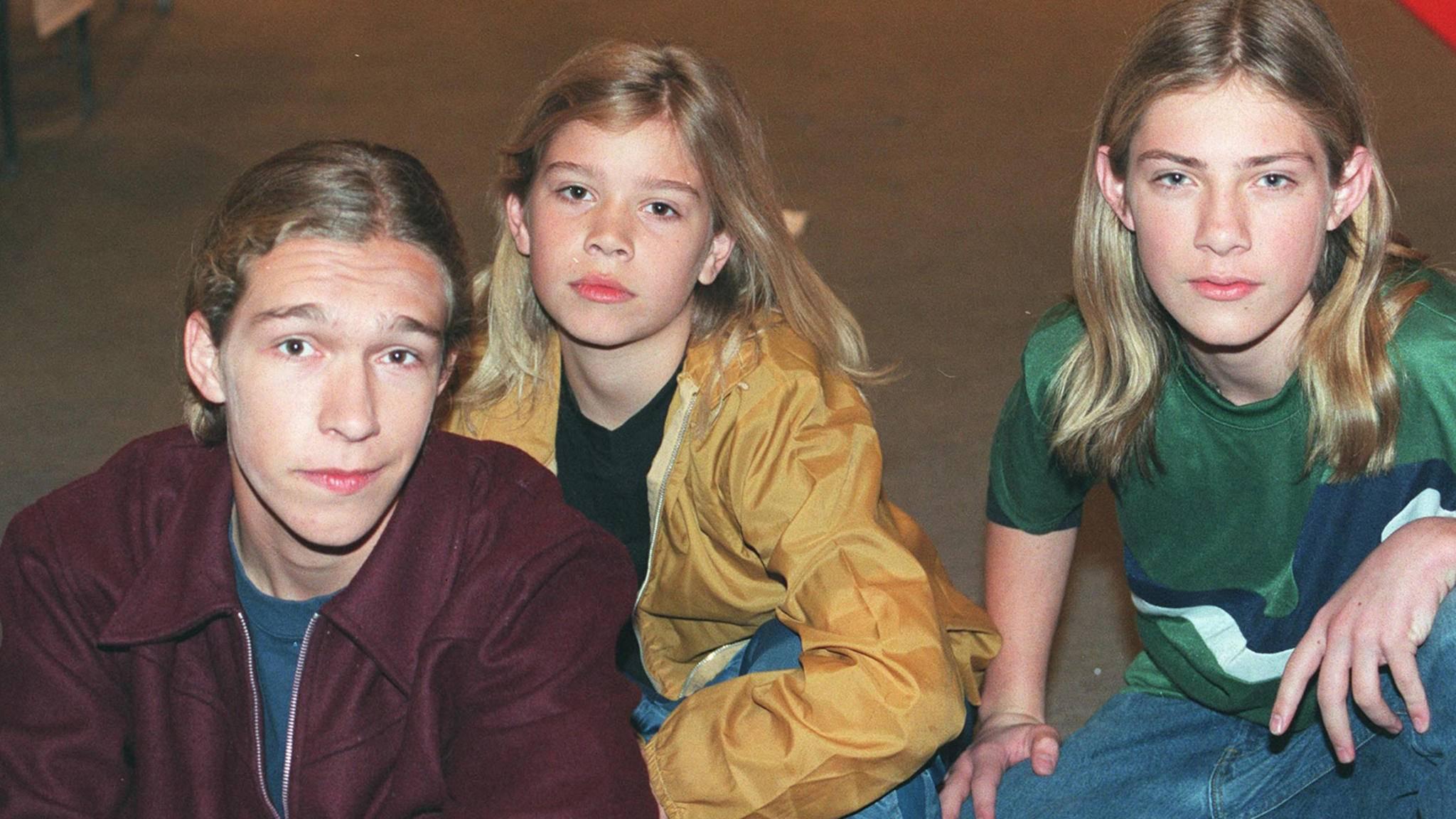 So sahen Hanson im Jahr 1997 aus.