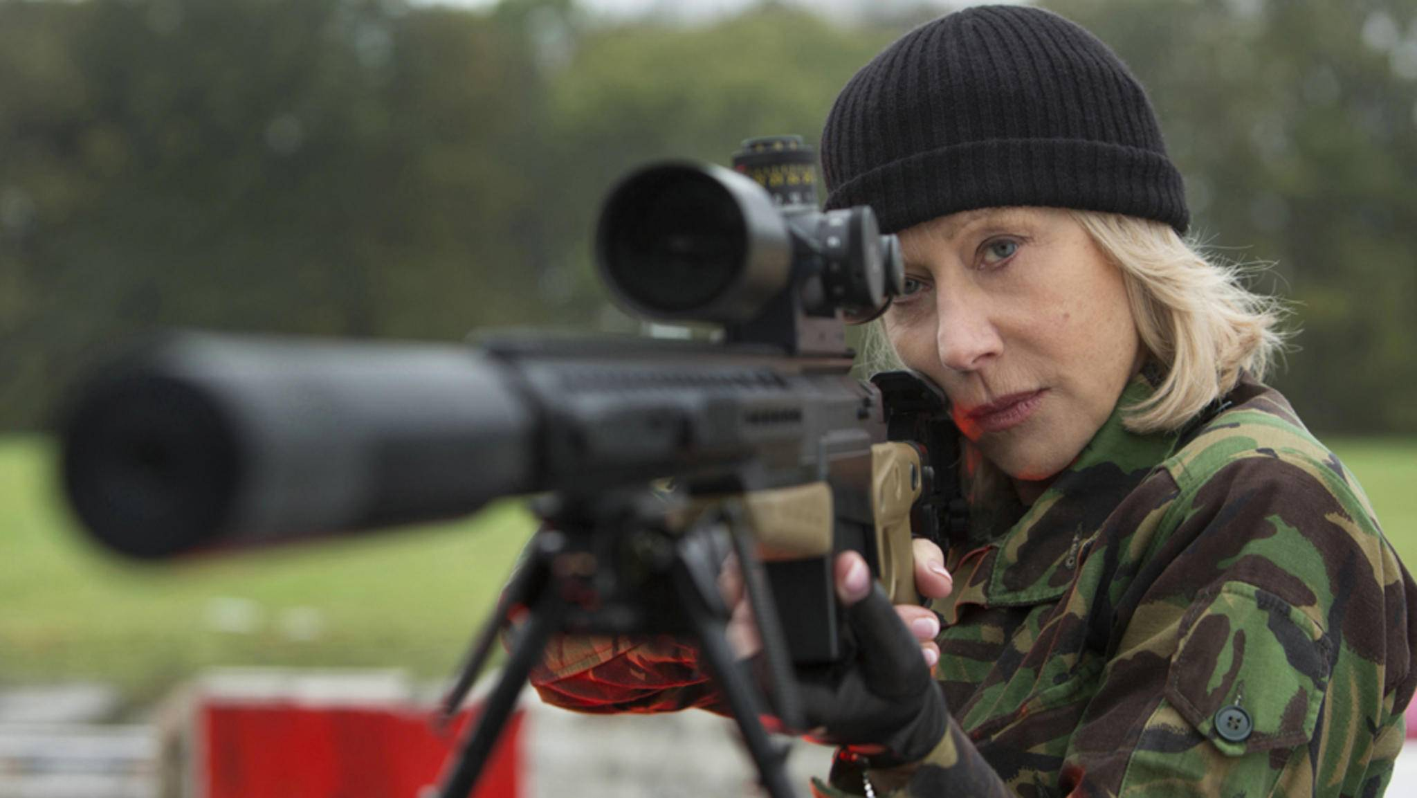 """In """"R.E.D. 2"""" bewies Helen Mirren bereits ihre Action-Tauglichkeit."""