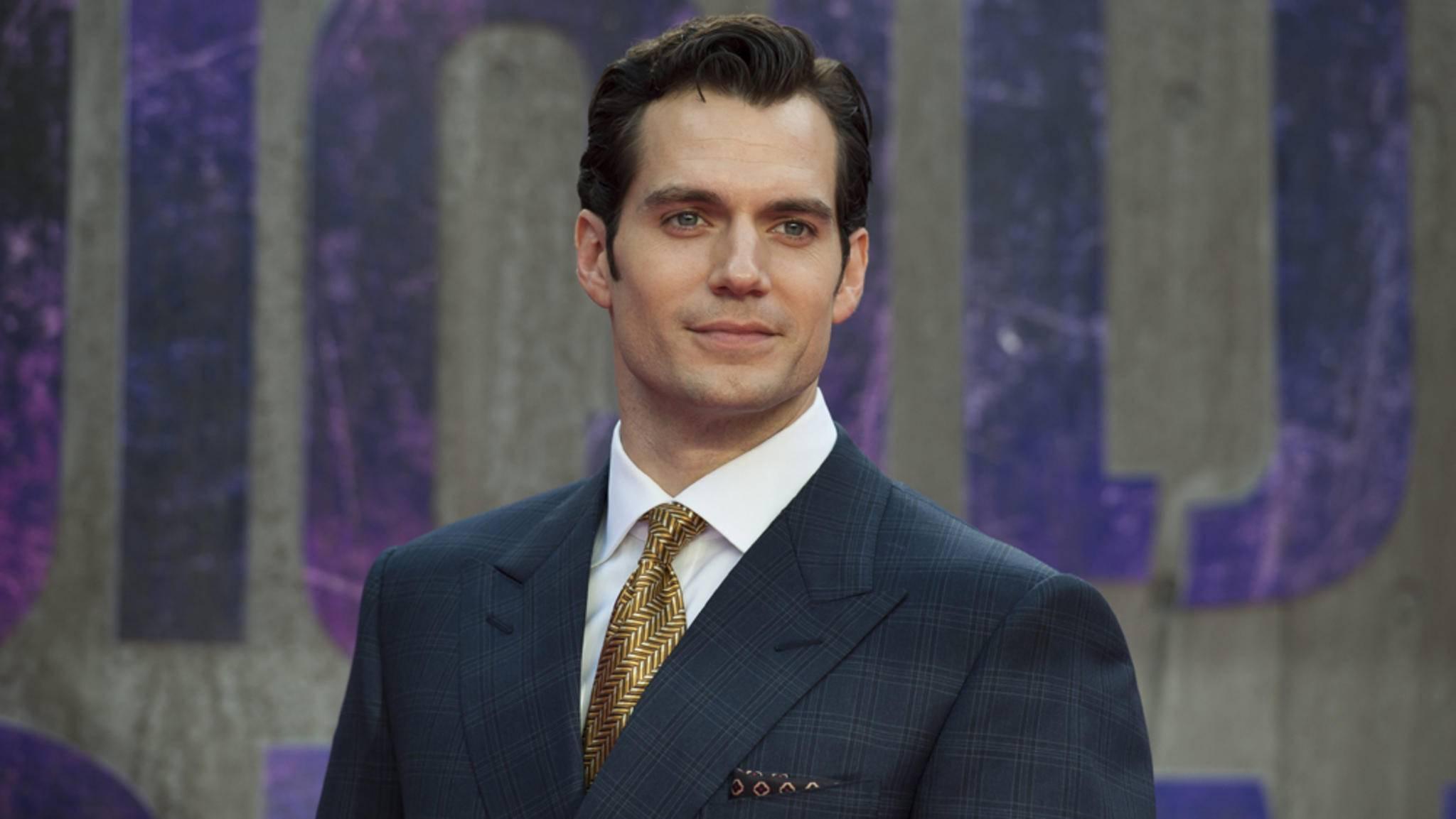 Statt als Superman wird Henry Cavill 2018 als Agent im Kino zu sehen sein.