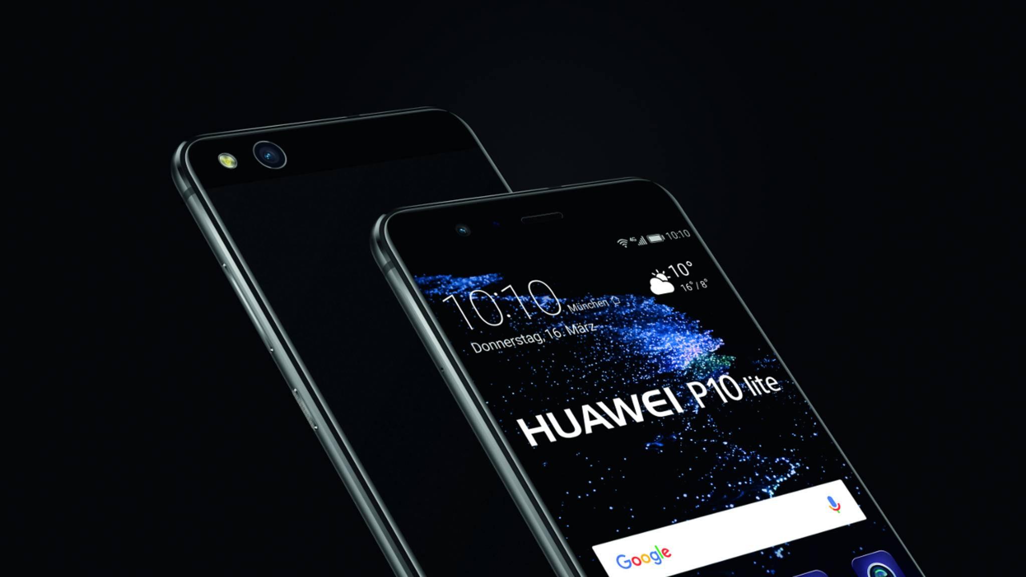 Das Huawei P10 Lite erscheint Ende März.