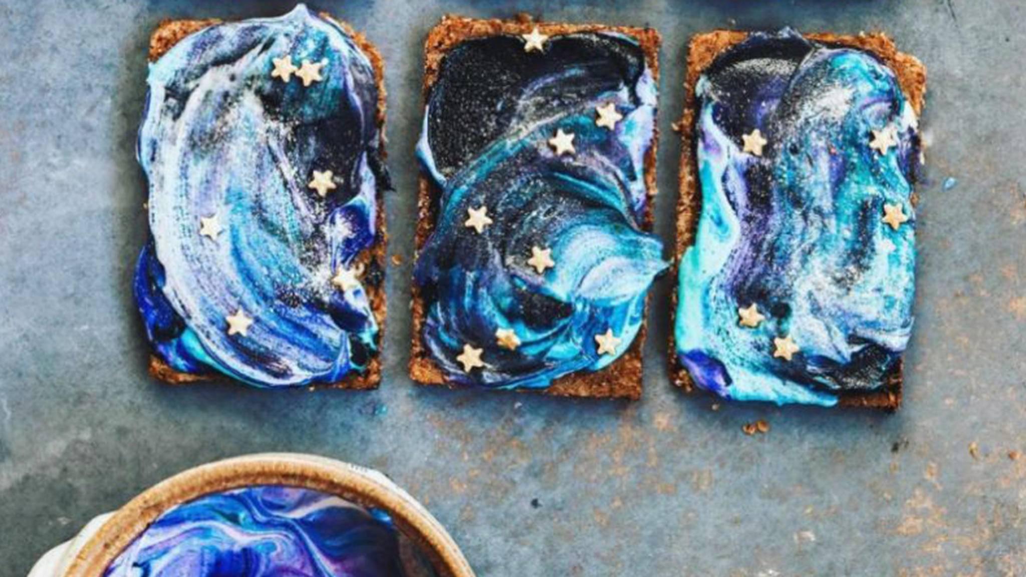 Der Galaxy-Toast ist der neue Star am Foodtrend-Himmel.
