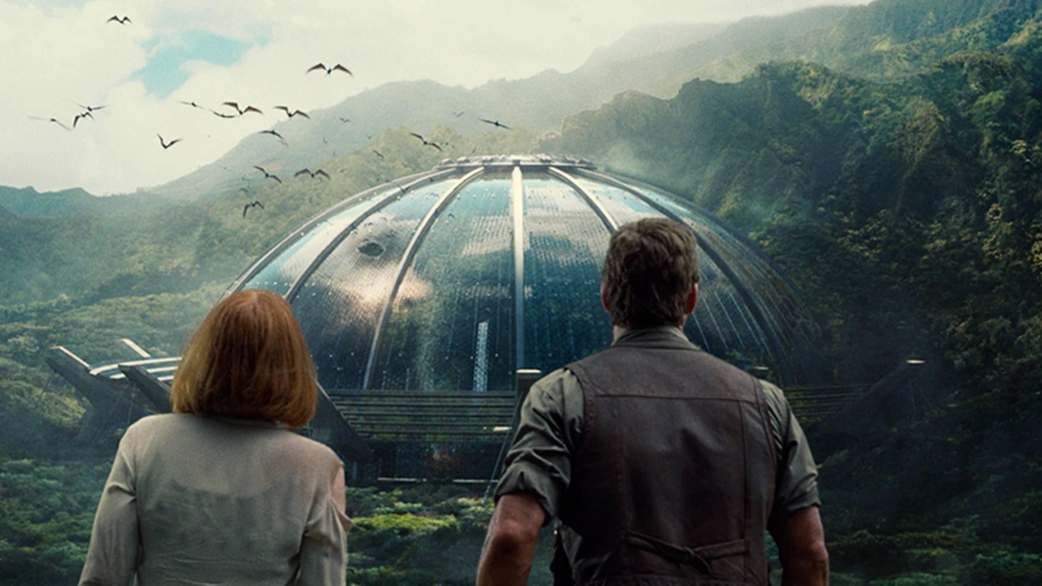 """Mit der Veröffentlichung des ersten Logos gehen die Arbeiten an """"Jurassic World 2"""" in die heiße Phase."""
