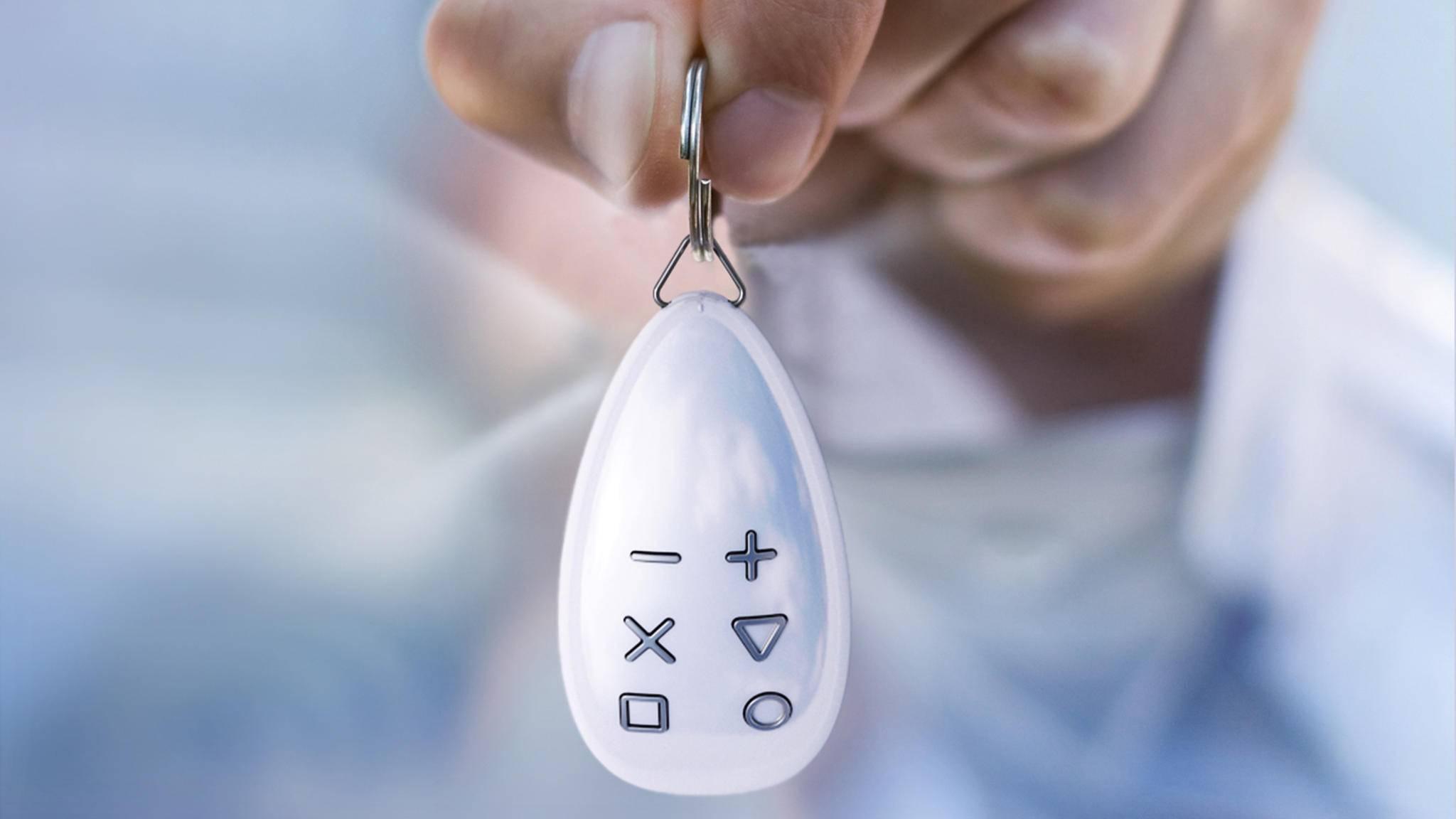 KeyFob ist eine clevere Fernbedienung fürs Smart Home.