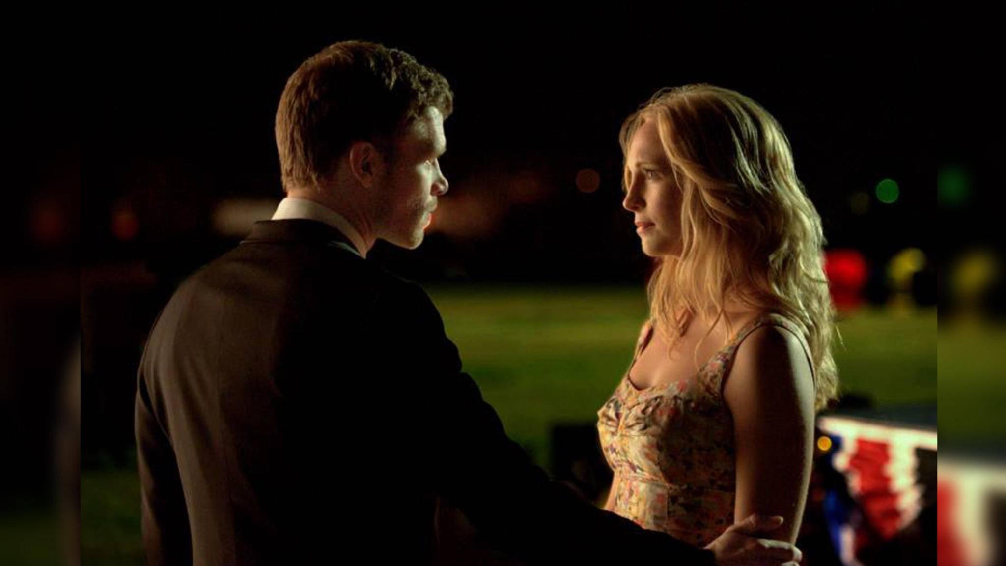 """Sind Klaus und Caroline (hier in den """"Vampire Diaries"""") bald wieder vereint?"""