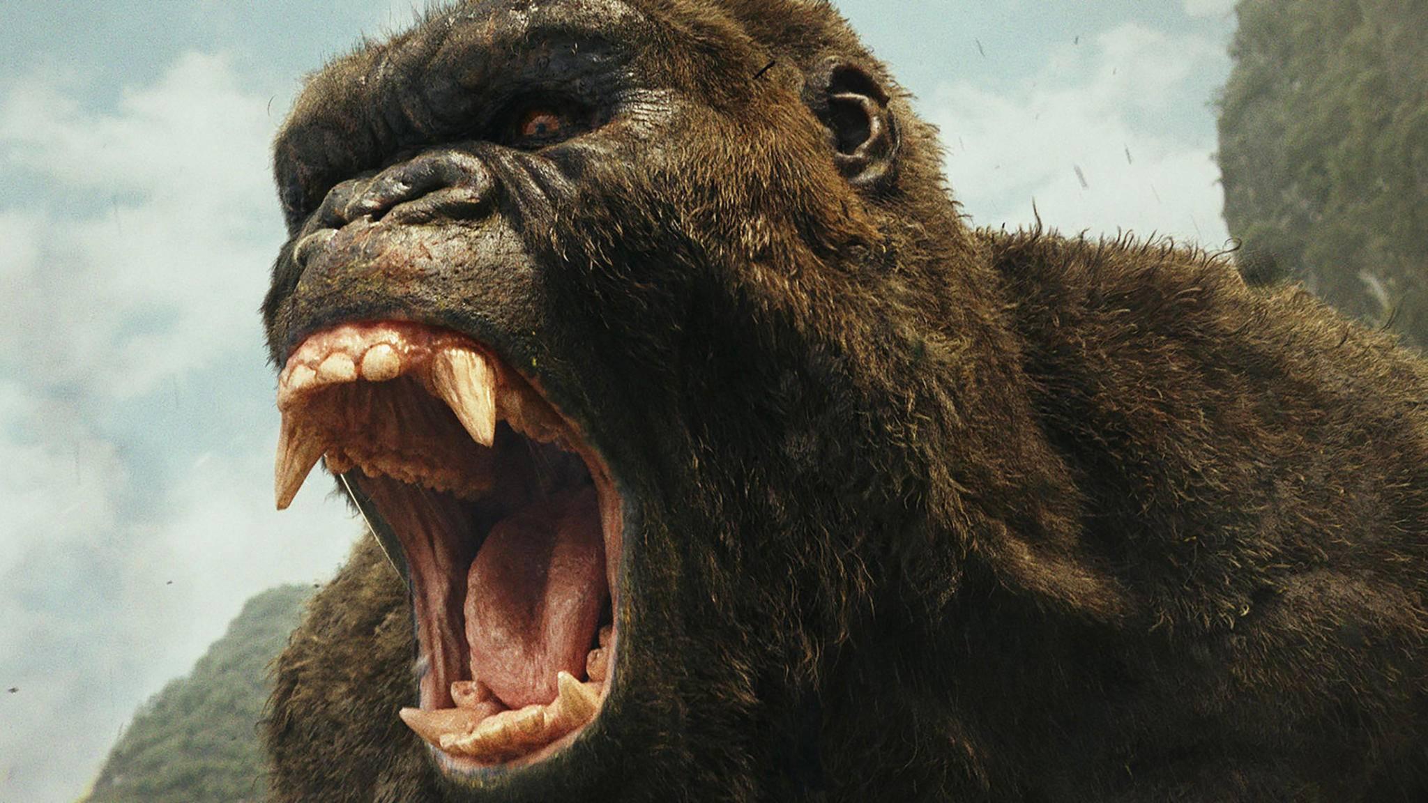 Bei Eindringlingen auf seiner Insel versteht King Kong keinen Spaß!