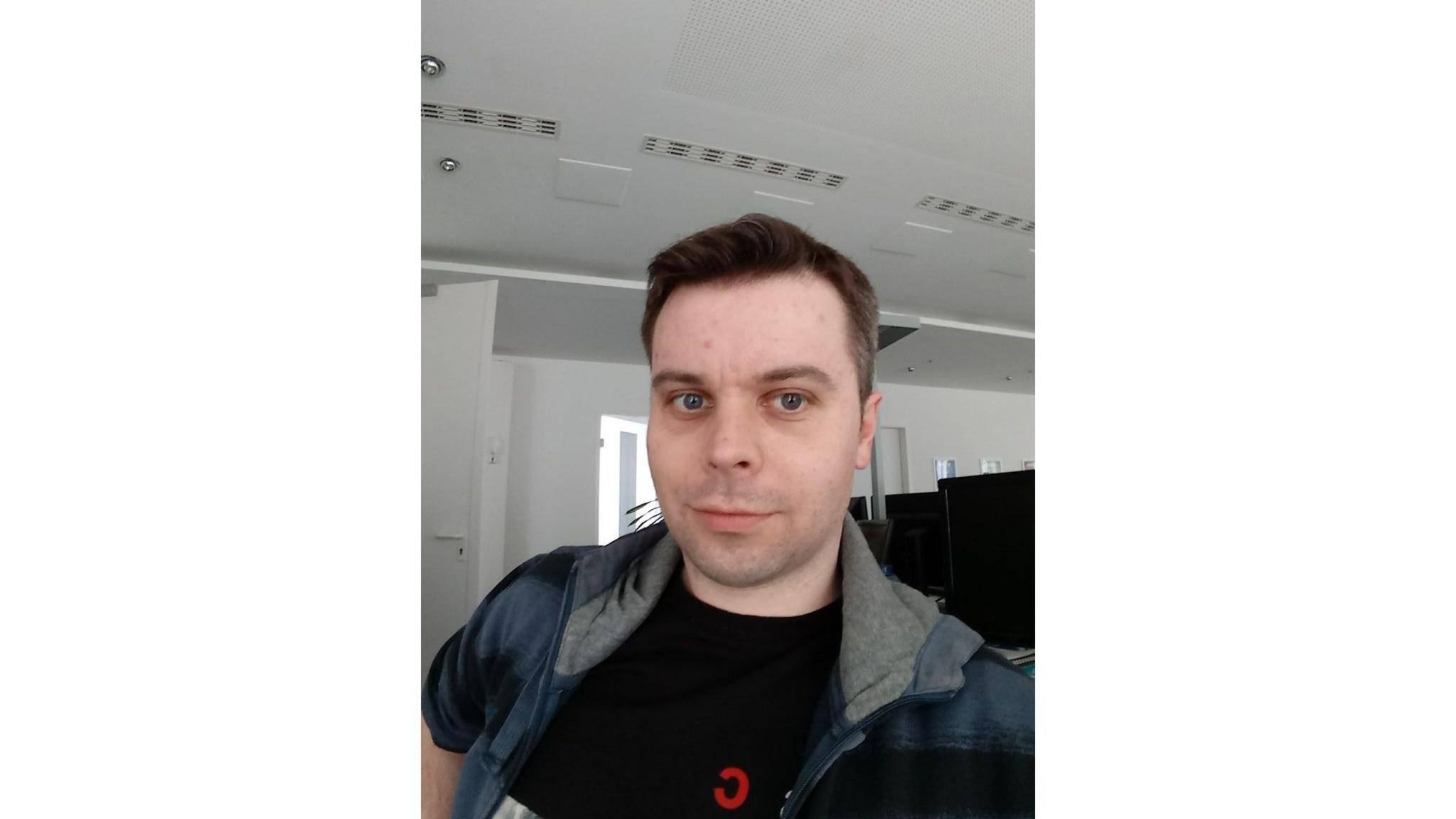 Die Selfie-Cam macht ordentliche Bilder...