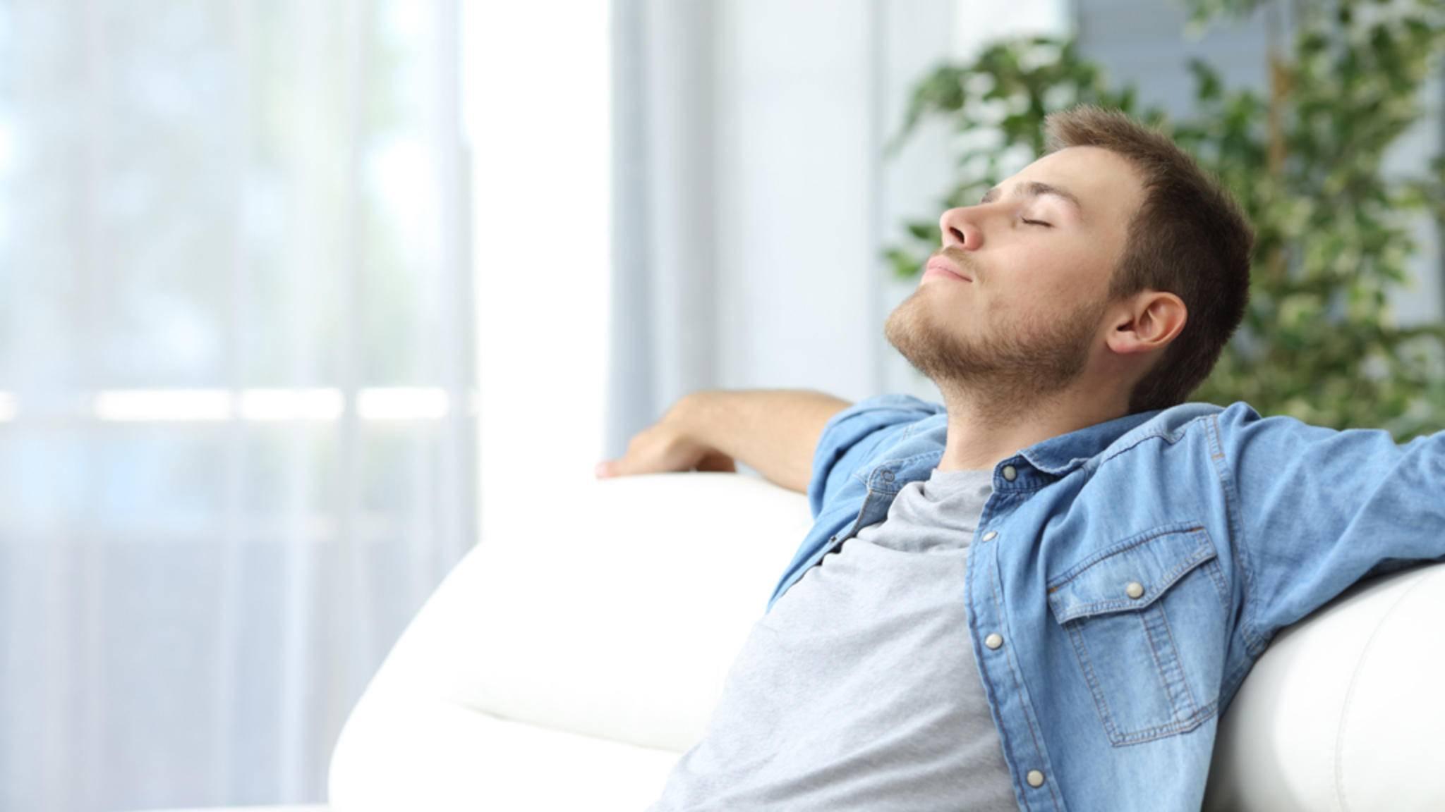 Mit einem Luftreiniger sollen Allergiker wieder beruhigt durchatmen können.