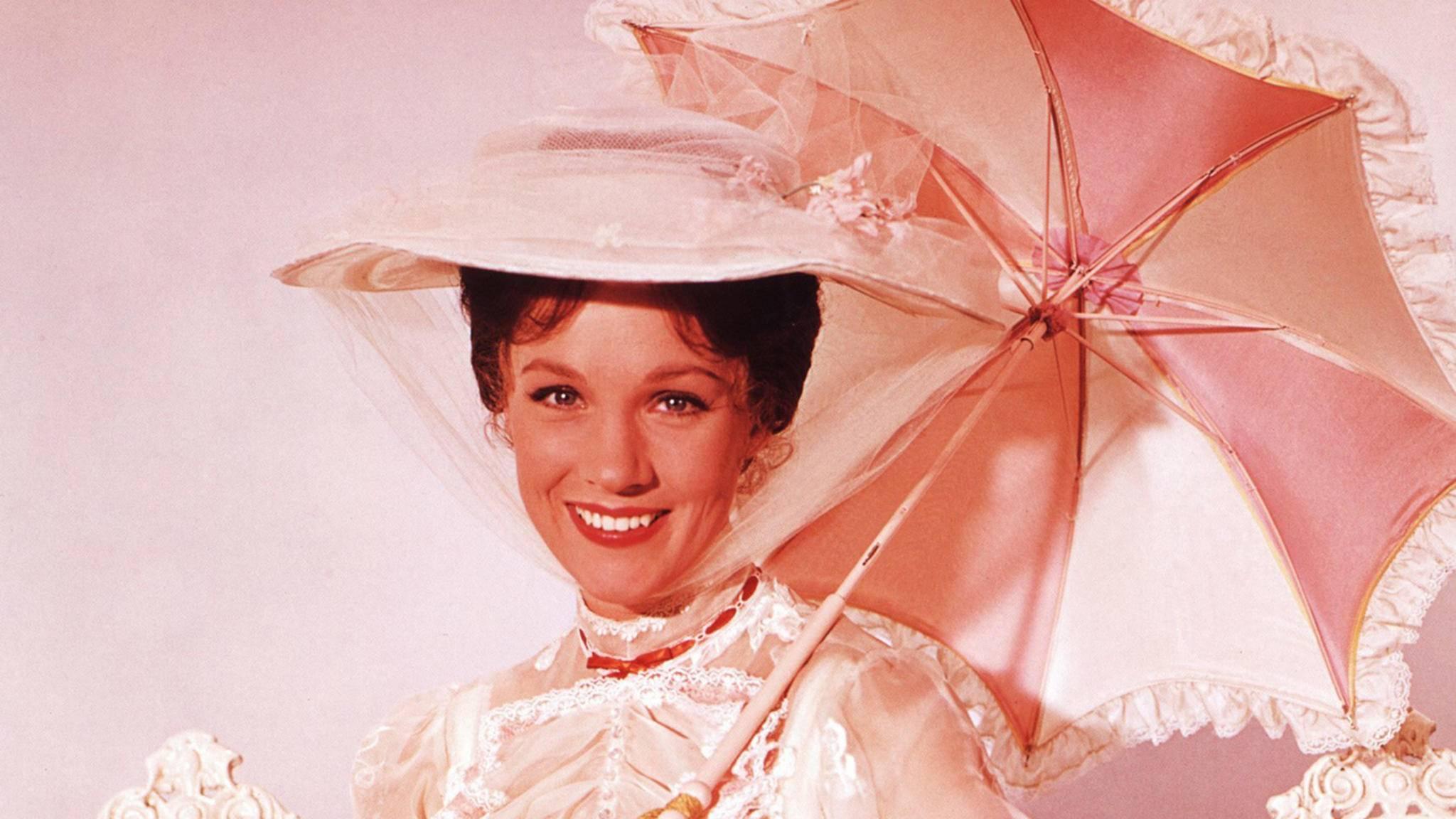 Jedes Kind wollte eine Nanny wie Mary Poppins (Julie Andrews).