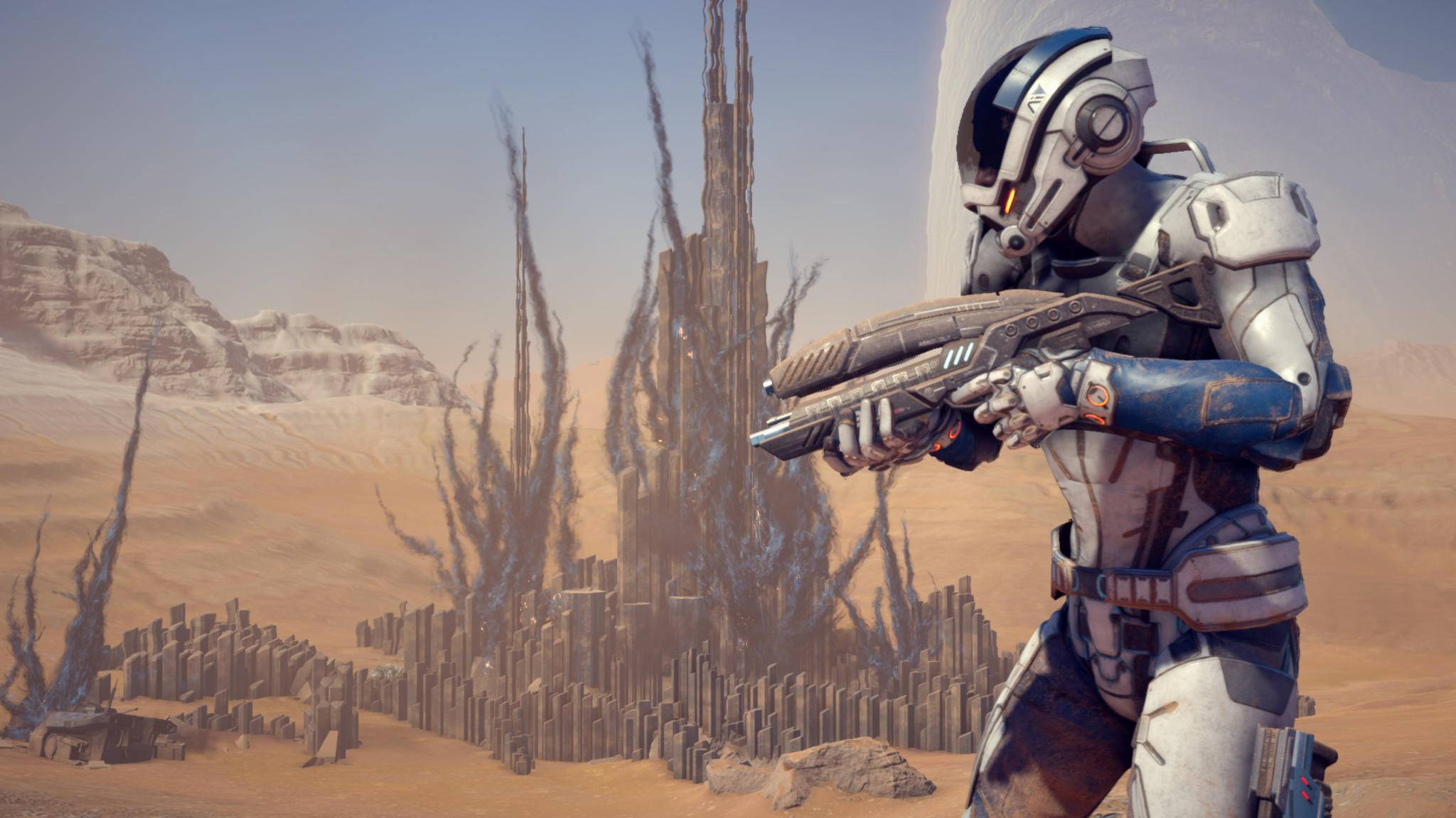 """Die Entwickler reagieren gelassen auf die Kritik an """"Mass Effect: Andromeda""""."""