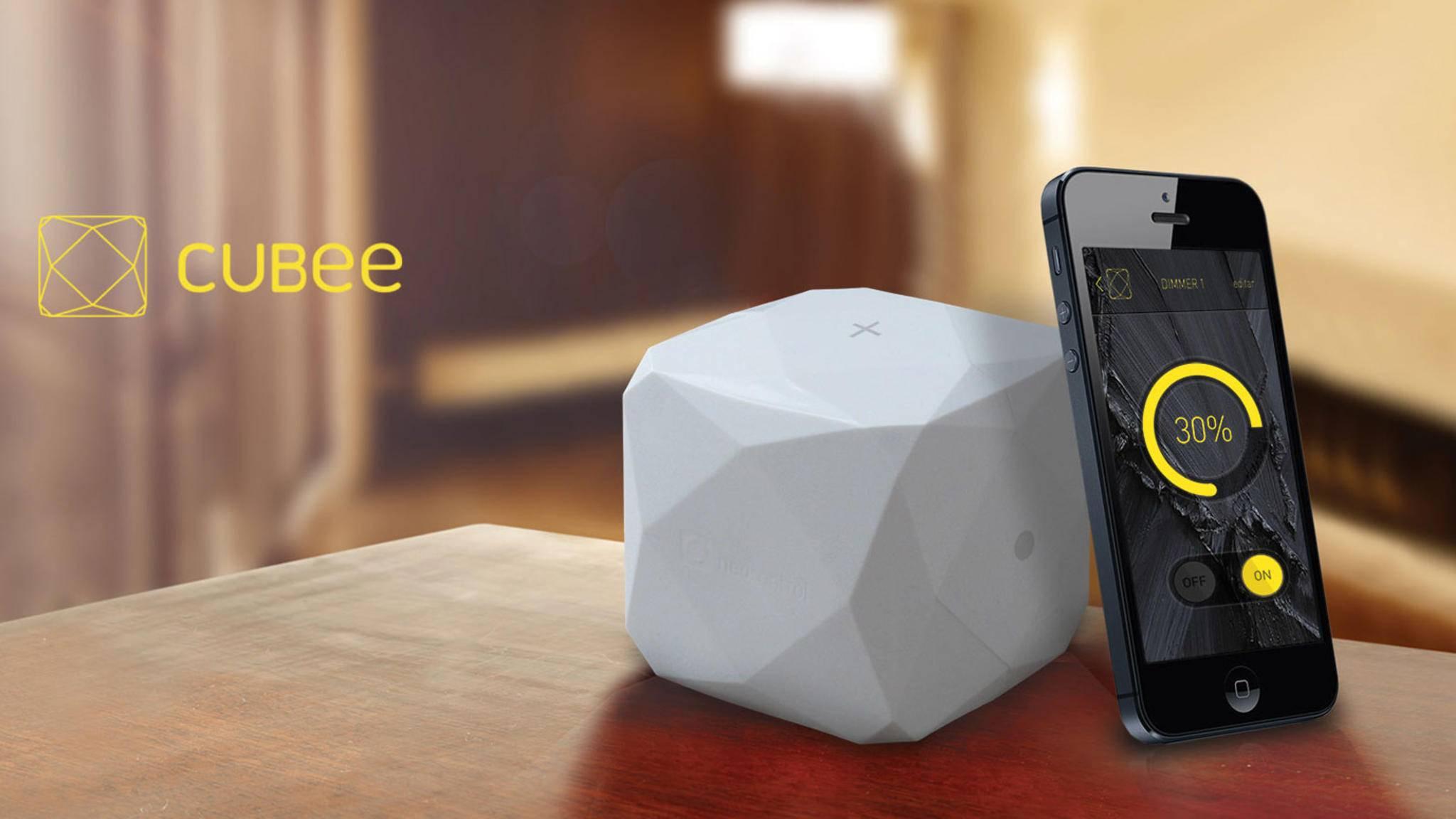 Mit dem NeoControl Cubee sollst Du Dein Smart Home immer im Griff haben.