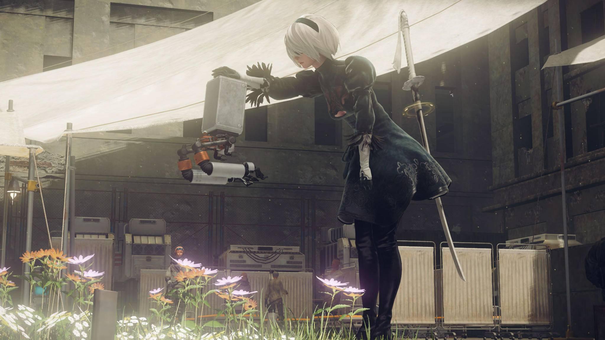 """""""NieR: Automata"""": Action-Adventure mit Anspruch."""
