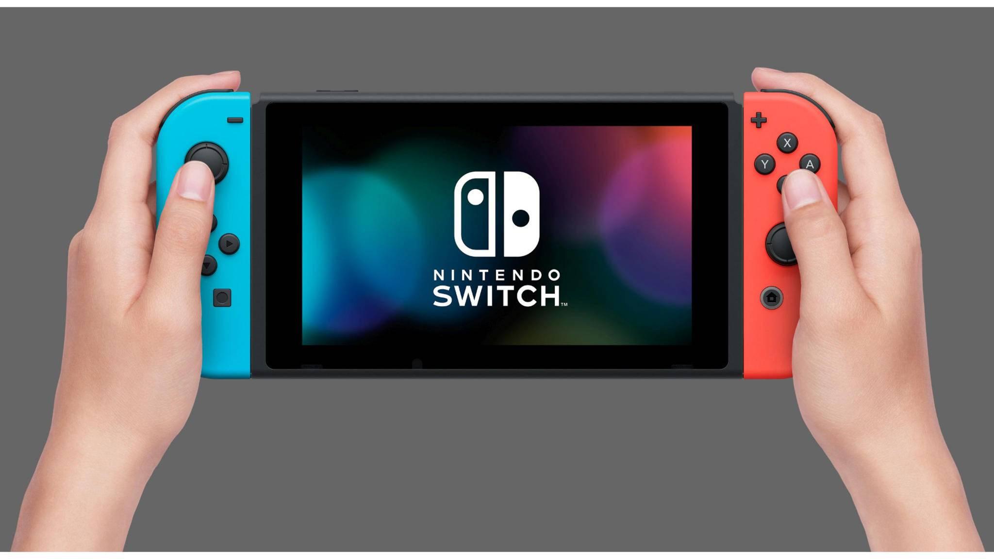 Eine neue Version der Nintendo Switch besitzt einen größeren Akku.