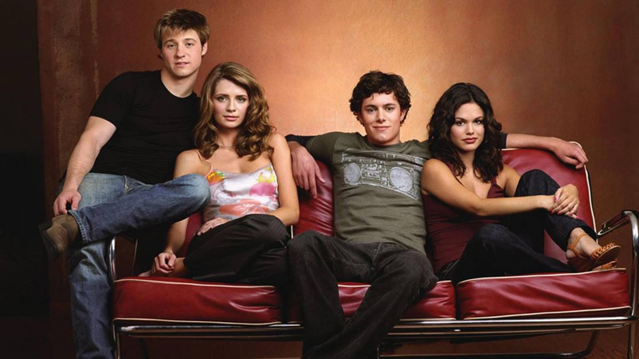 """In """"O.C., California"""" ging es um die Clique bestehend aus Ryan, Marissa, Seth und Summer (v.l.n.r.)."""