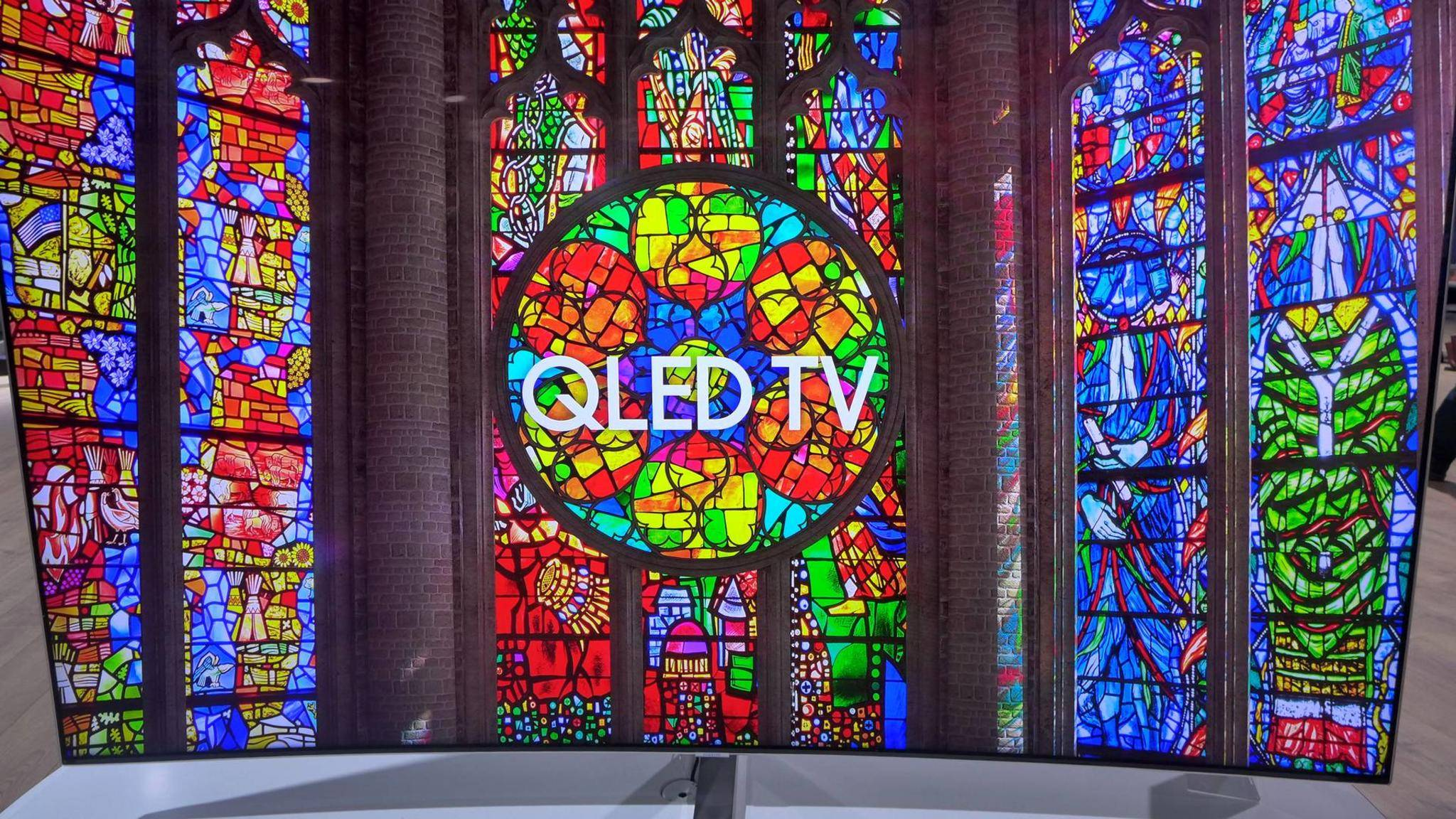 Mit QLED will Samsung OLED den Rang ablaufen.
