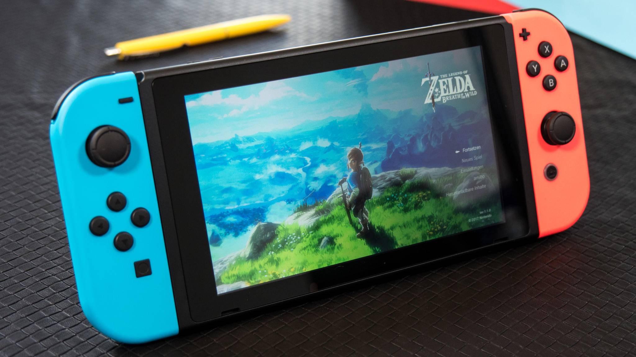 """Mehr Akku = mehr """"Zelda"""": Die Switch bekommt ein Batterie-Upgrade."""