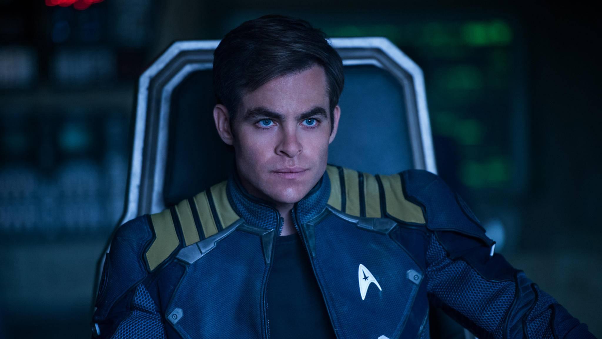 """""""Der Weltraum, unendliche Weiten"""": Die Rolle als Captain Kirk machte Chris Pine zum Star."""