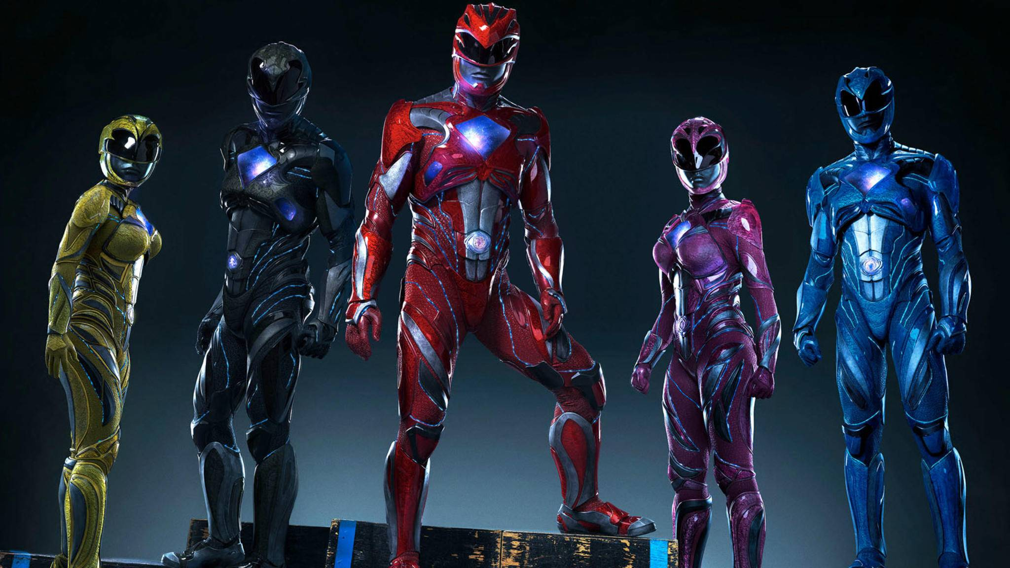 2017 kehren die Power Rangers auf die große Leinwand zurück.