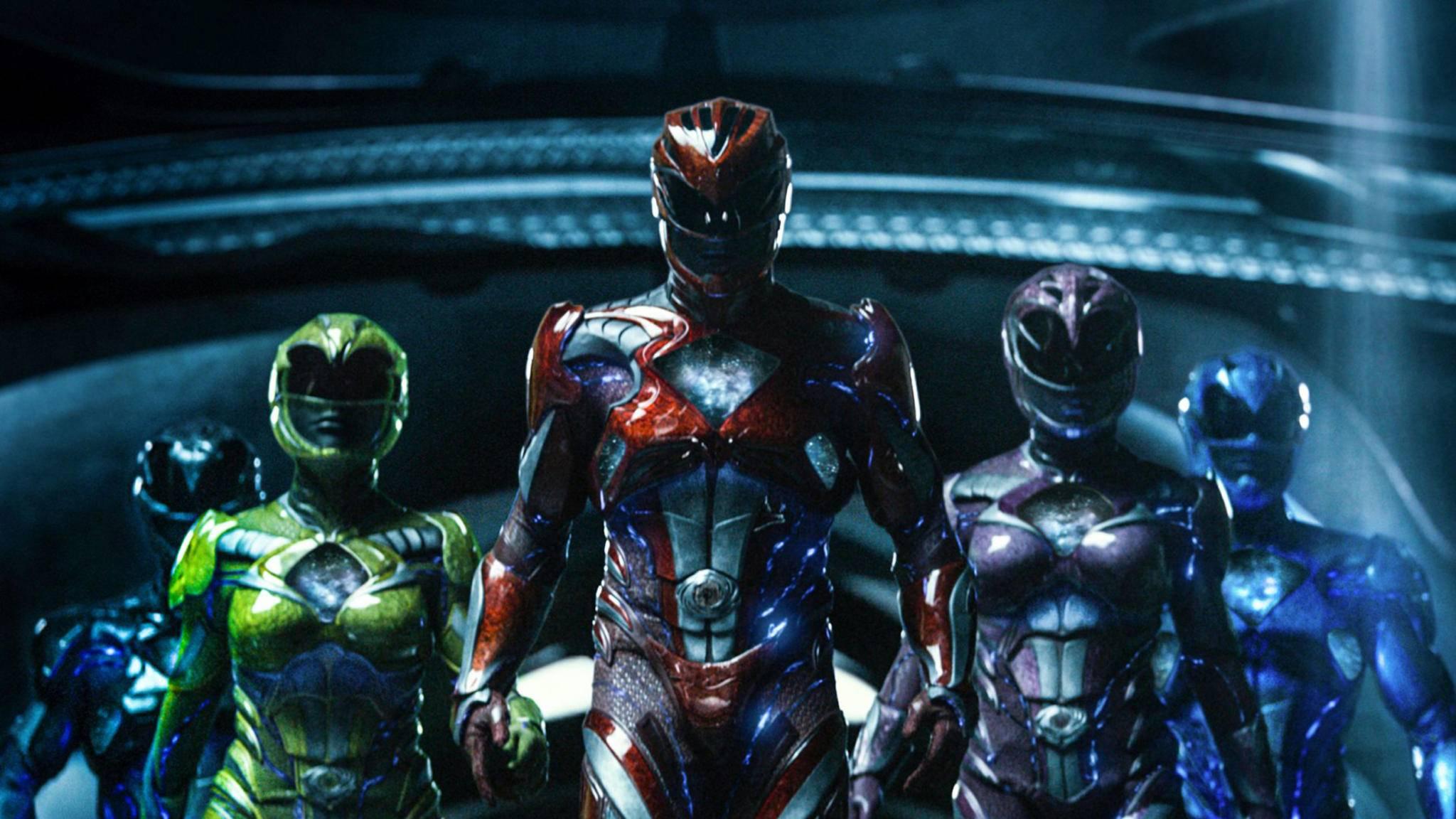 """Der neue """"Power Rangers""""-Film setzt offenbar auf ein komplett neues Team."""