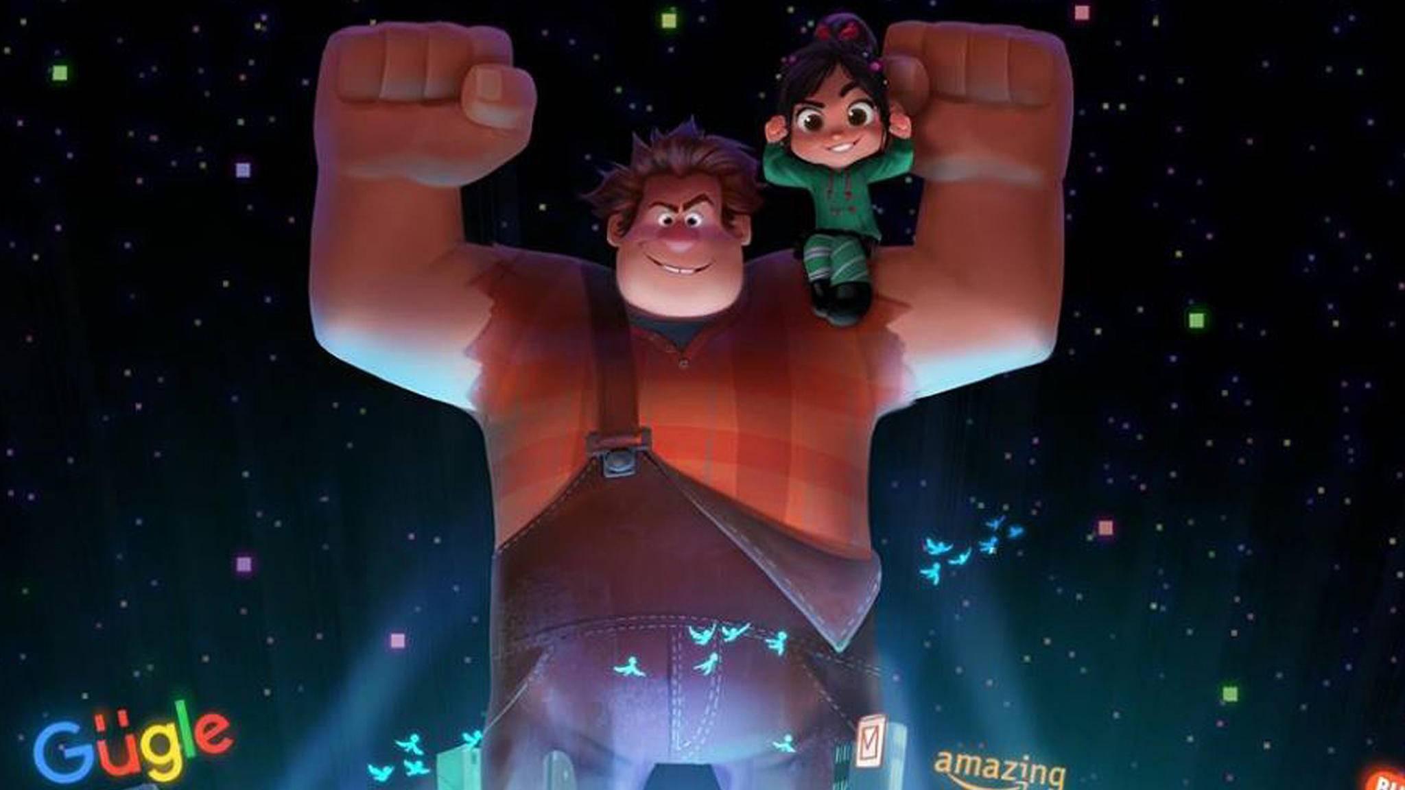 Ralph und Vanellope erobern das Internet!