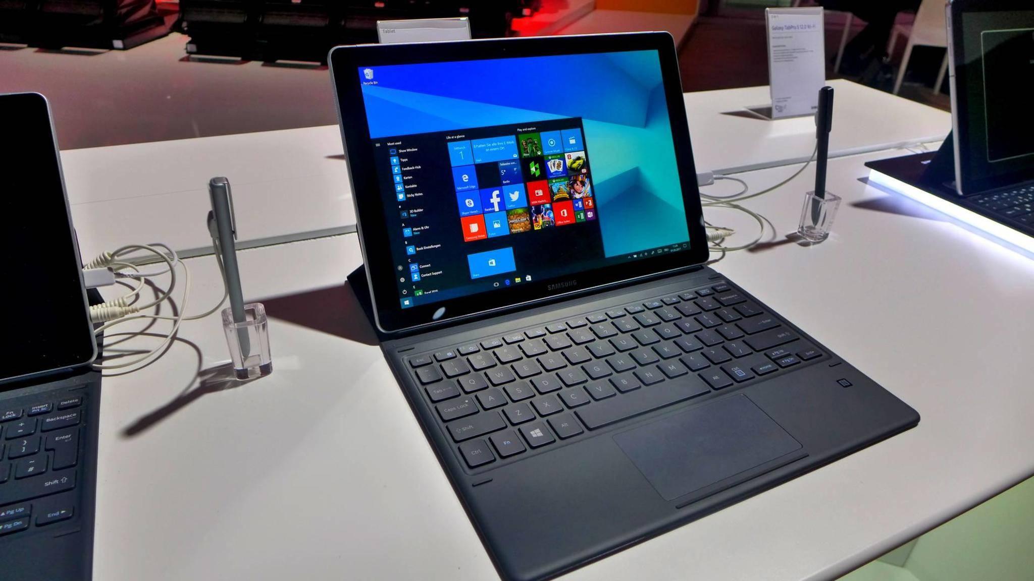 Das neue Galaxy Book 12 soll als Windows 10-Hybrid überzeugen.