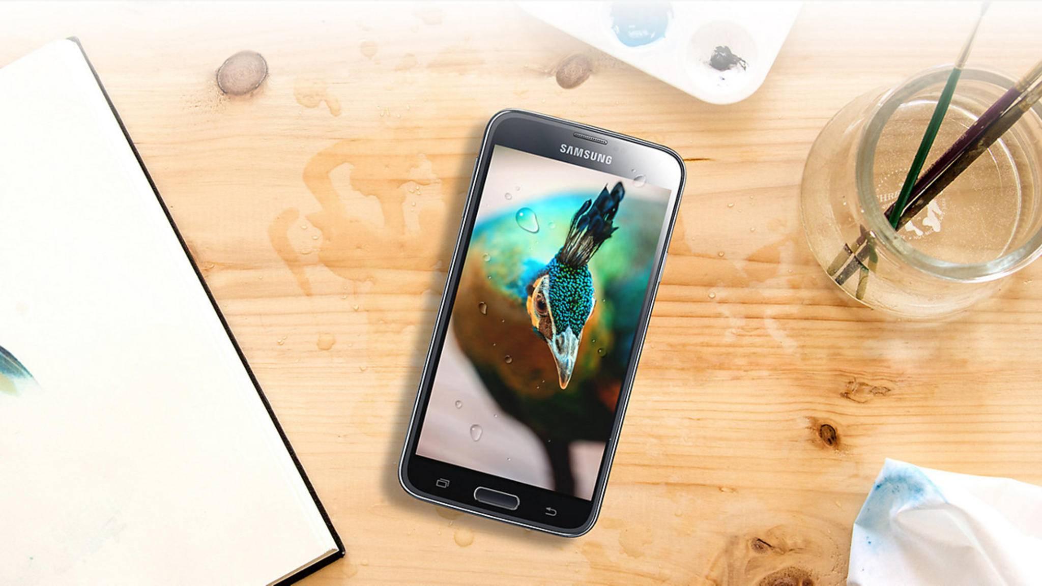 Das Galaxy S5 hatte noch ein Plastik-Gehäuse.