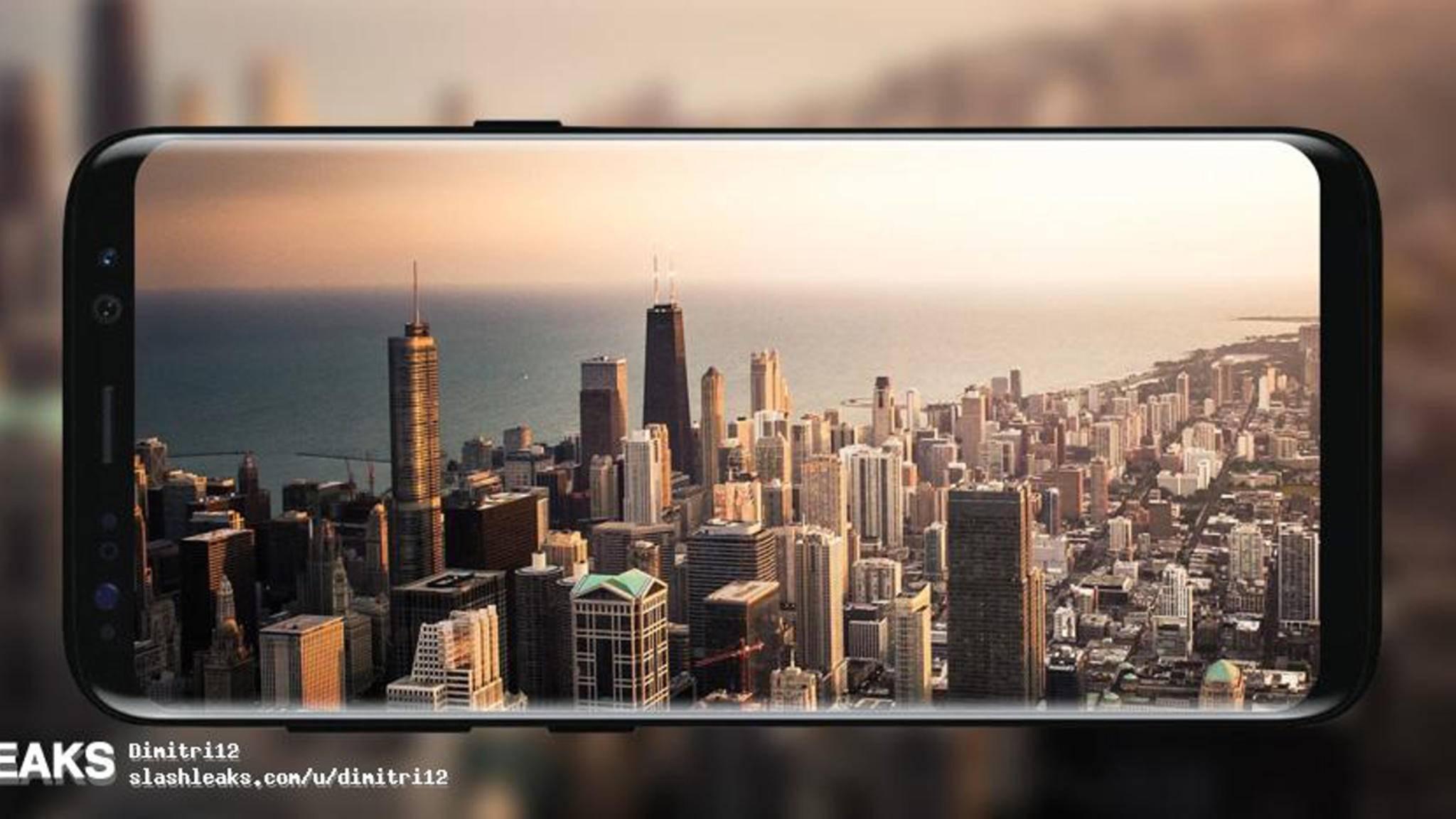 Das Galaxy S8 soll in zwei Größen auf den Markt kommen.