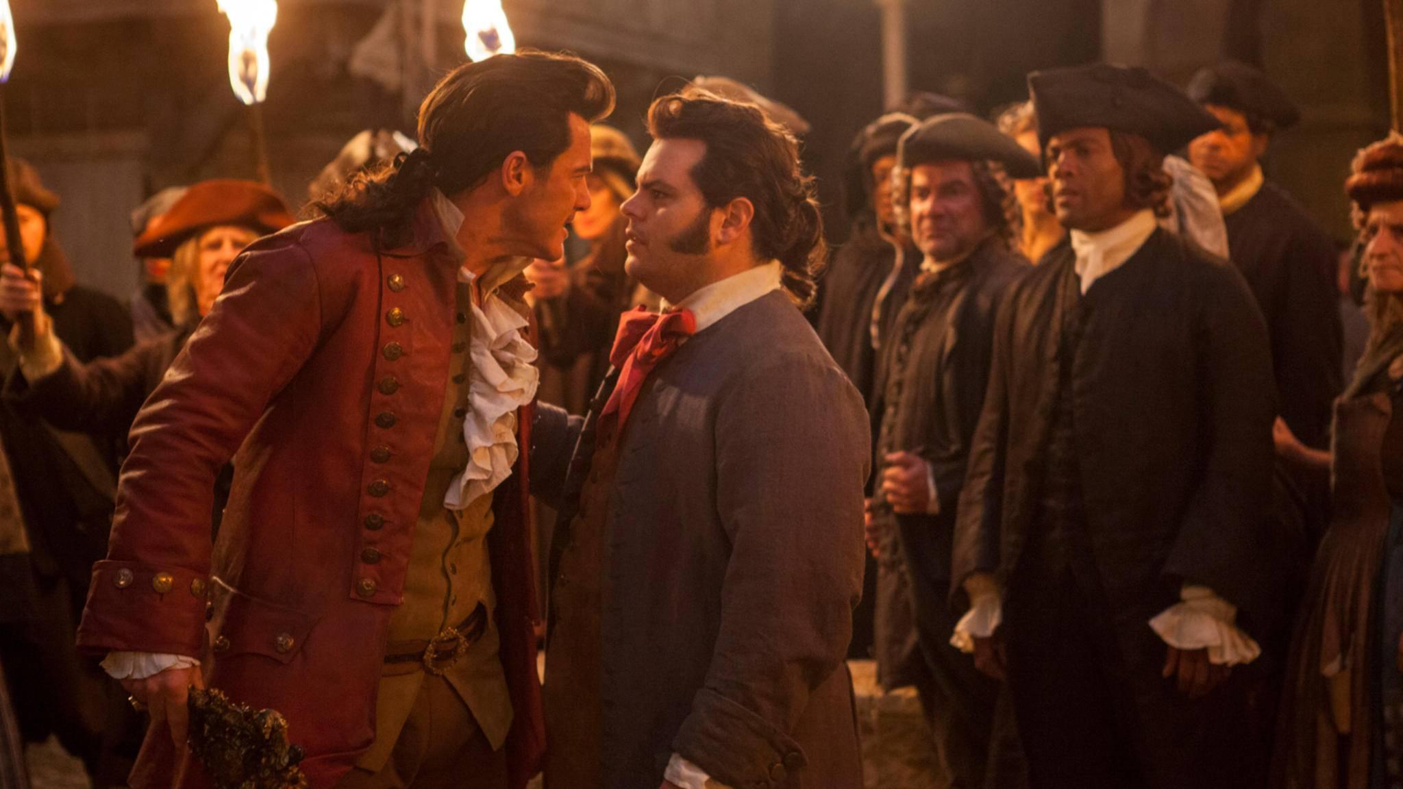 Gaston und LeFou: Sie können nicht mit-, aber auch nicht ohneeinander.
