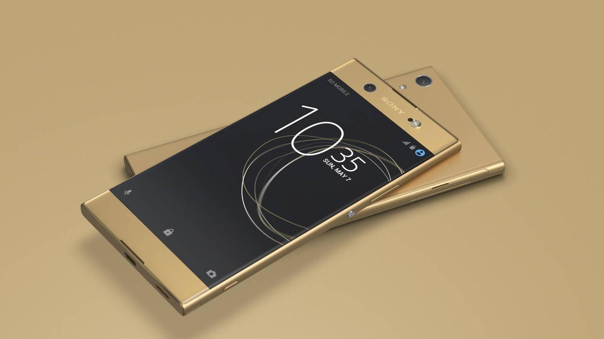 Das Sony Xperia XA1 soll am 10. April erscheinen.