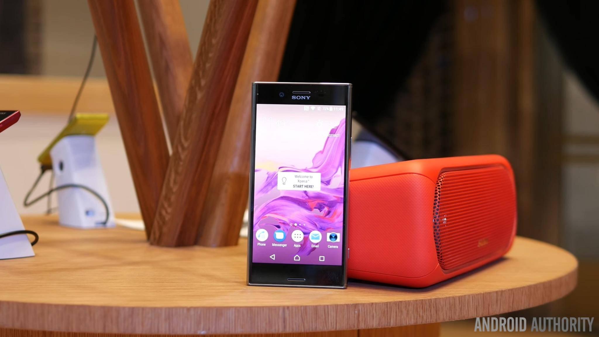 Das Xperia XZ Premium ist dank Snapdragon 835 sehr schnell unterwegs.