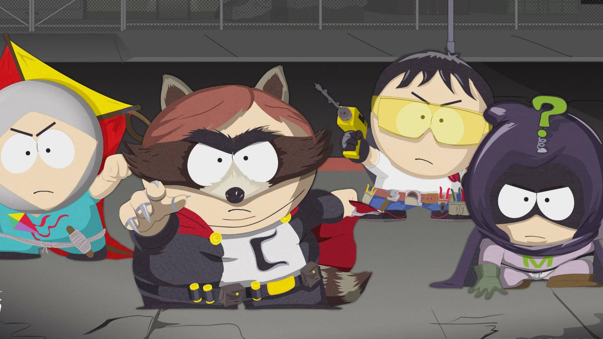 """""""South Park: Die rektakuläre Zerreissprobe"""" spart nicht mit bissigem Humor."""