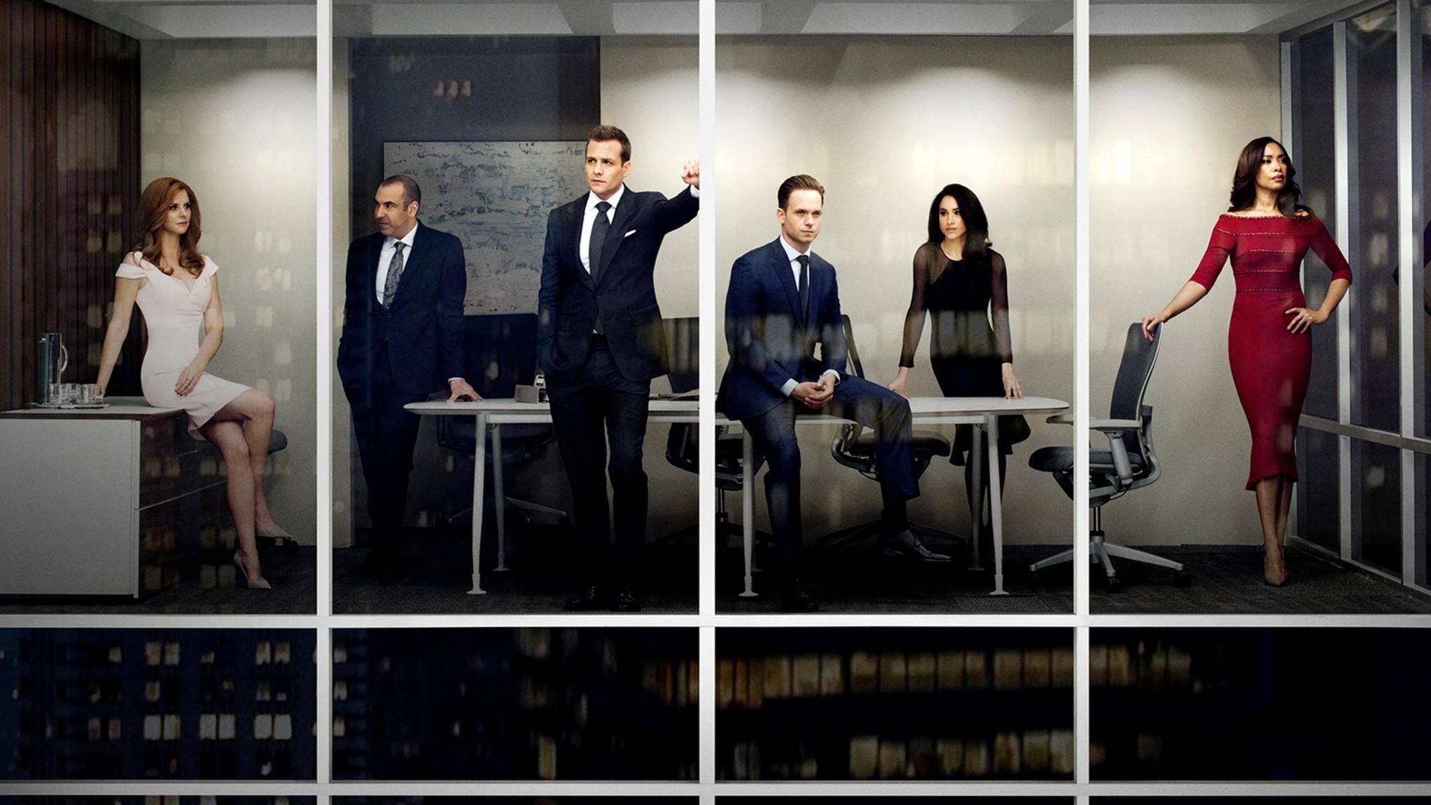 """In """"Suits"""" geht es um weit mehr als nur maßgeschneiderte Anzüge!"""