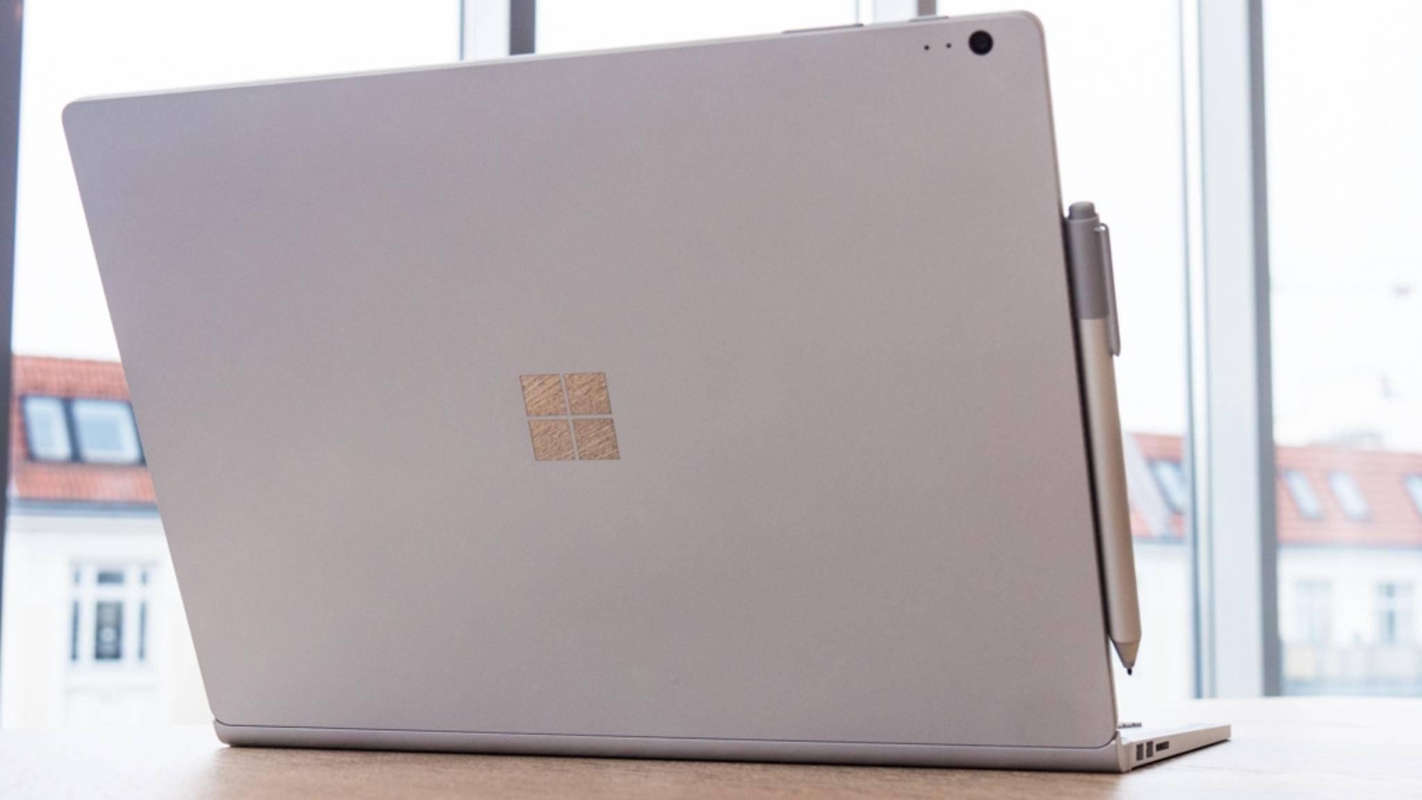 Microsoft könnte im Oktober ein neues Surface Book vorstellen.