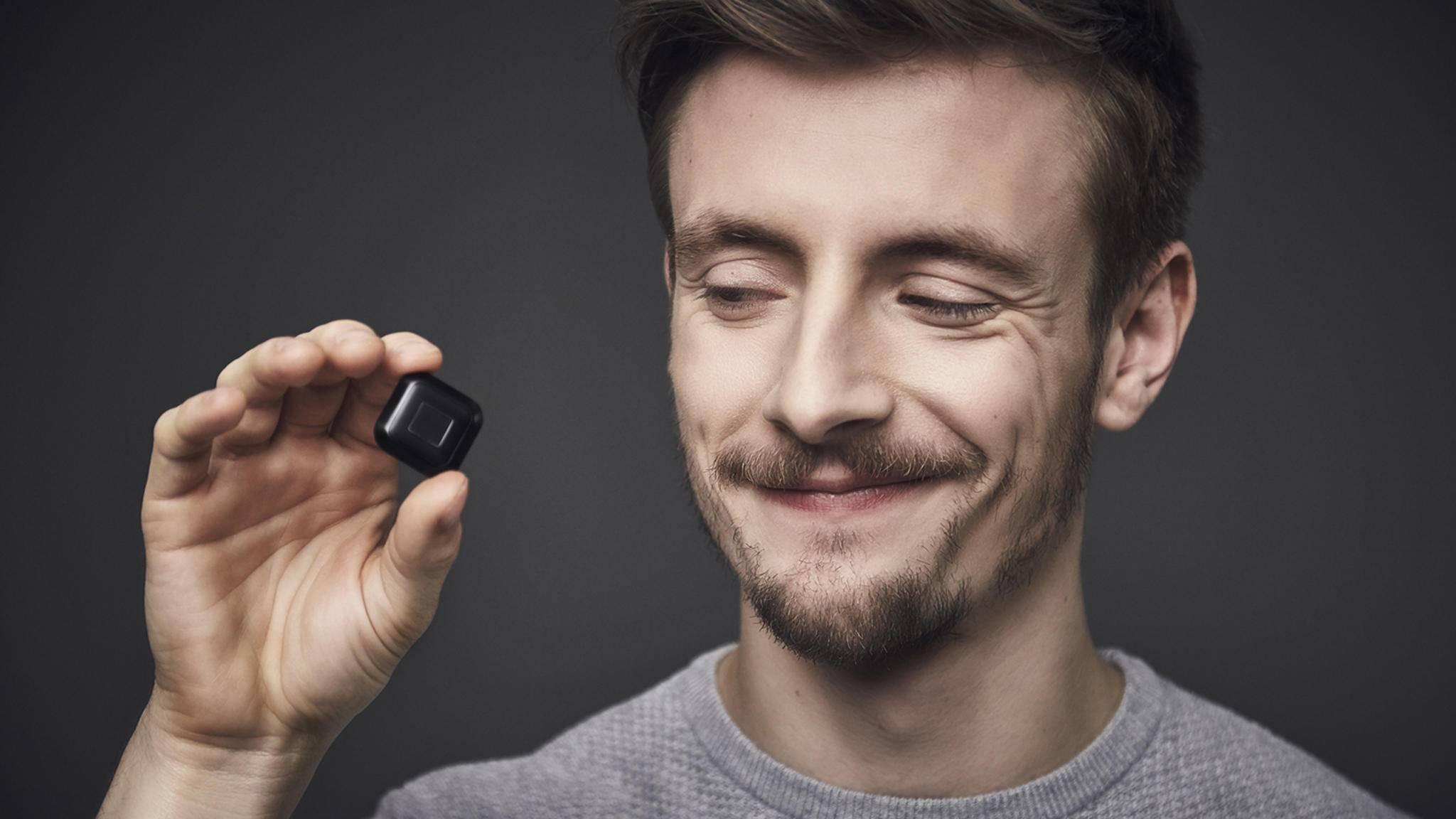 Der Smart-Button Tapdo wurde auf der CeBIT 2017 vorgestellt.