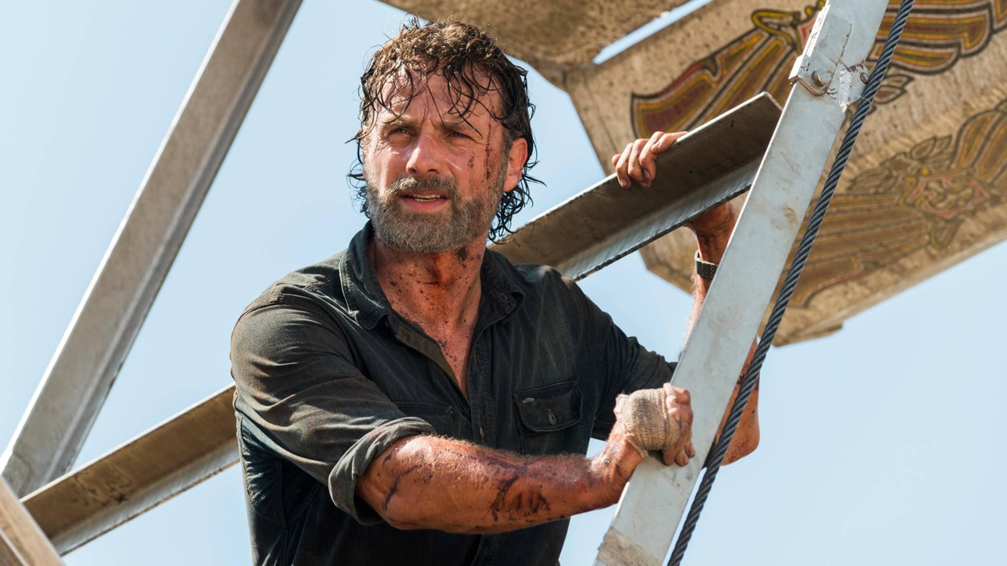 """Die Dreharbeiten zu Staffel 8 von """"The Walking Dead"""" werden offiziell fortgesetzt."""