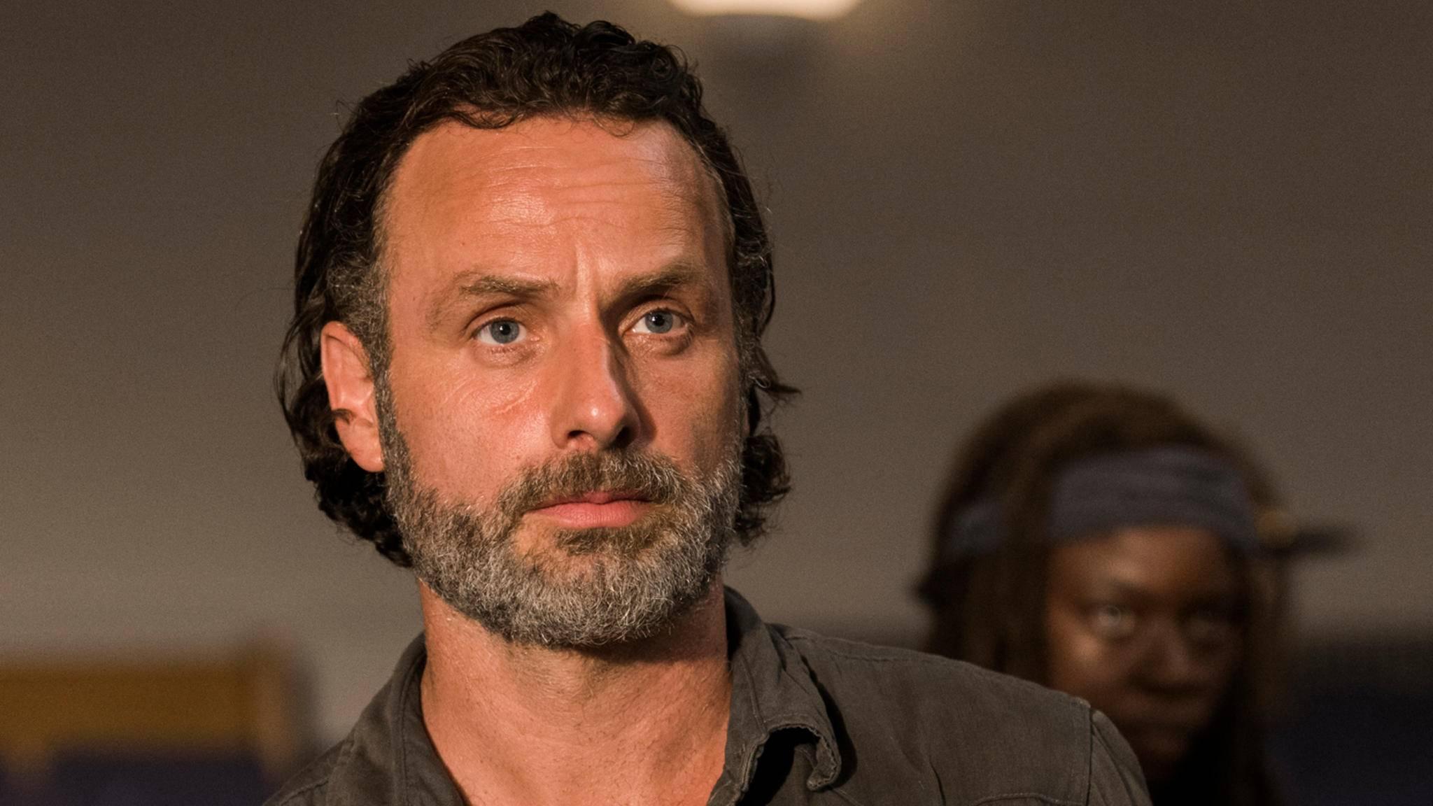 """Andrew Lincoln verrät, wie er sich den Tod von Rick in """"The Walking Dead"""" vorstellt."""