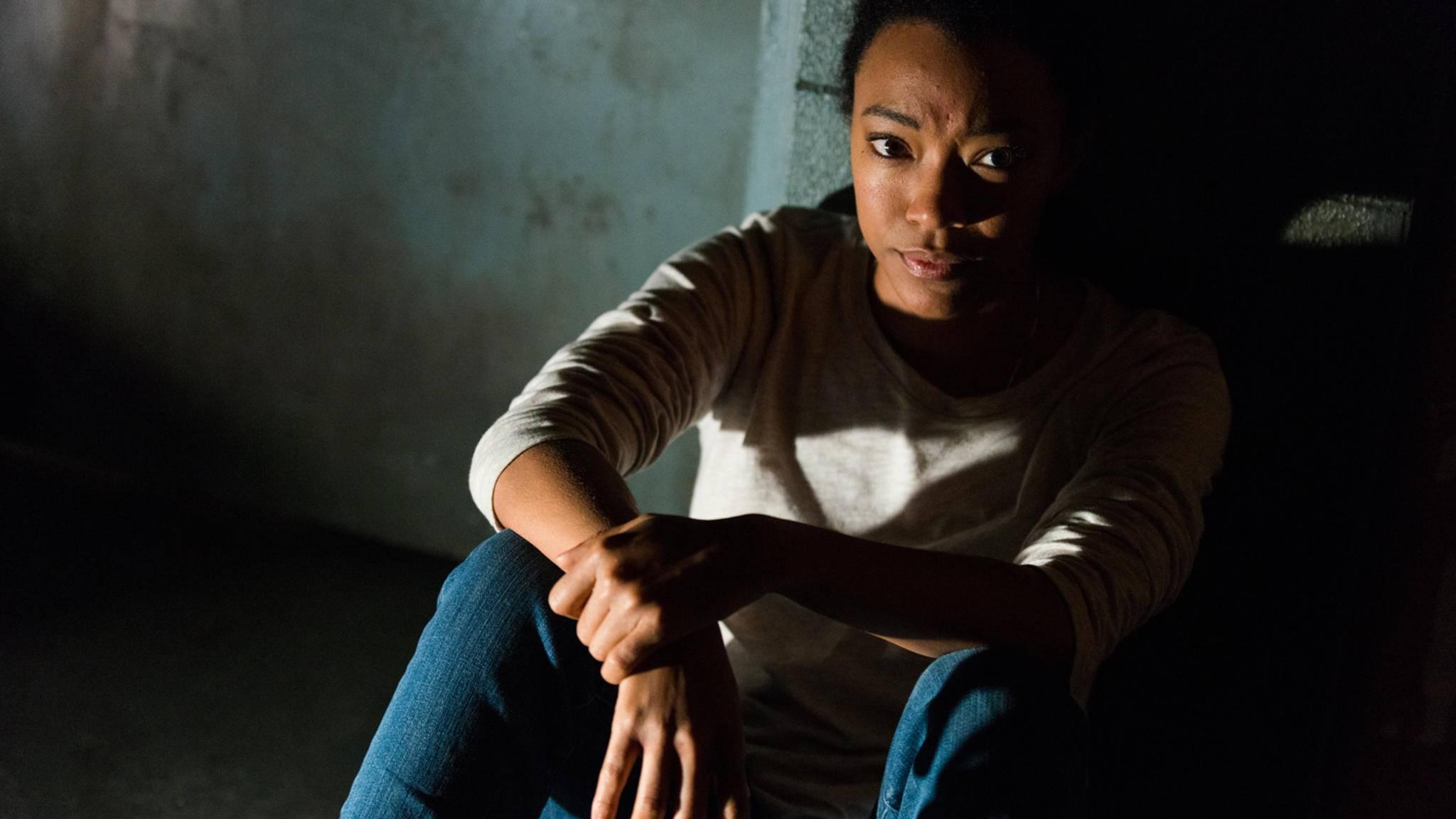 """Ob Sasha die kommende Episode von """"The Walking Dead"""" wohl überleben wird?"""