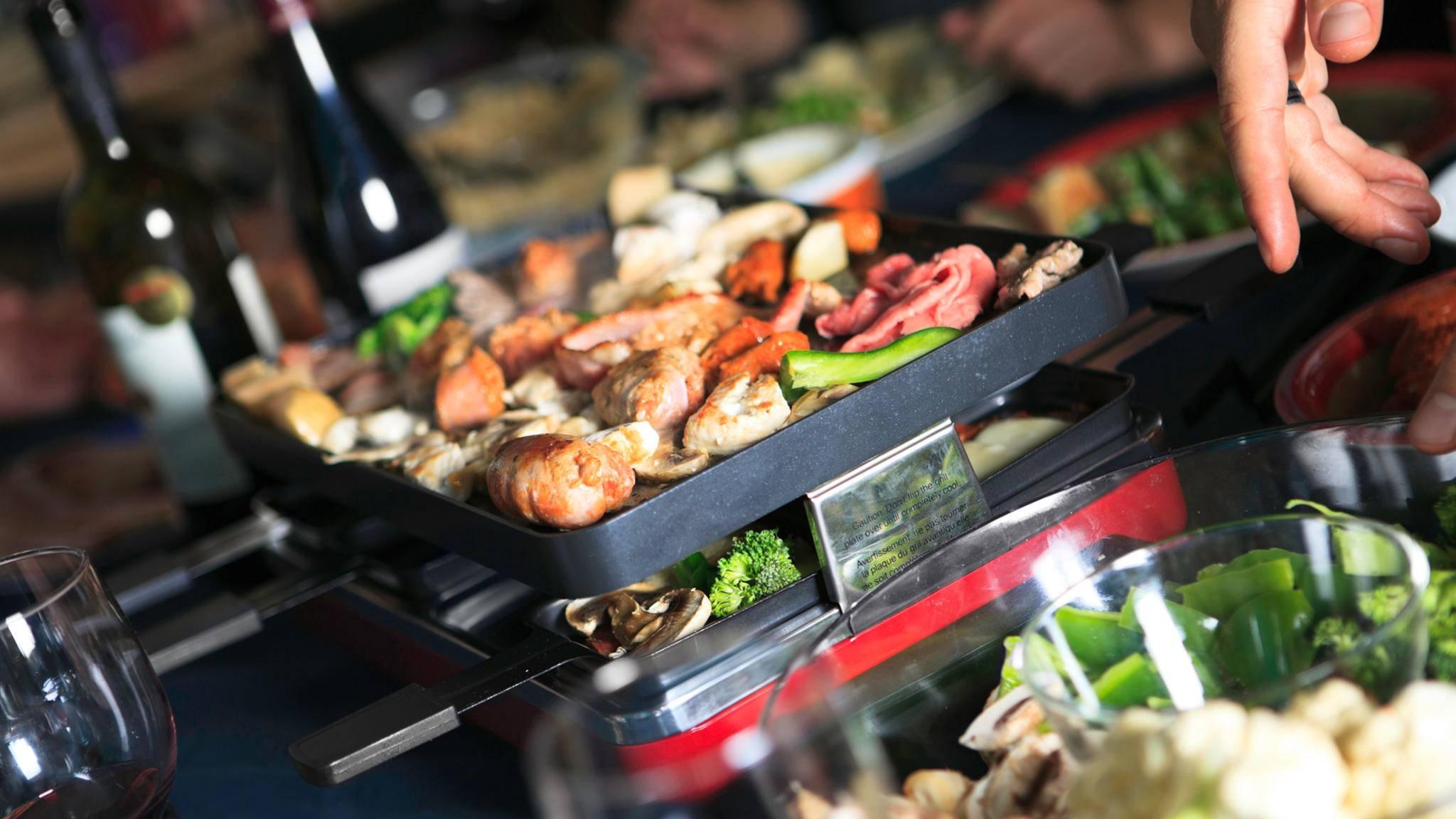 Den passenden Raclette-Grill zu finden, ist gar nicht so einfach.