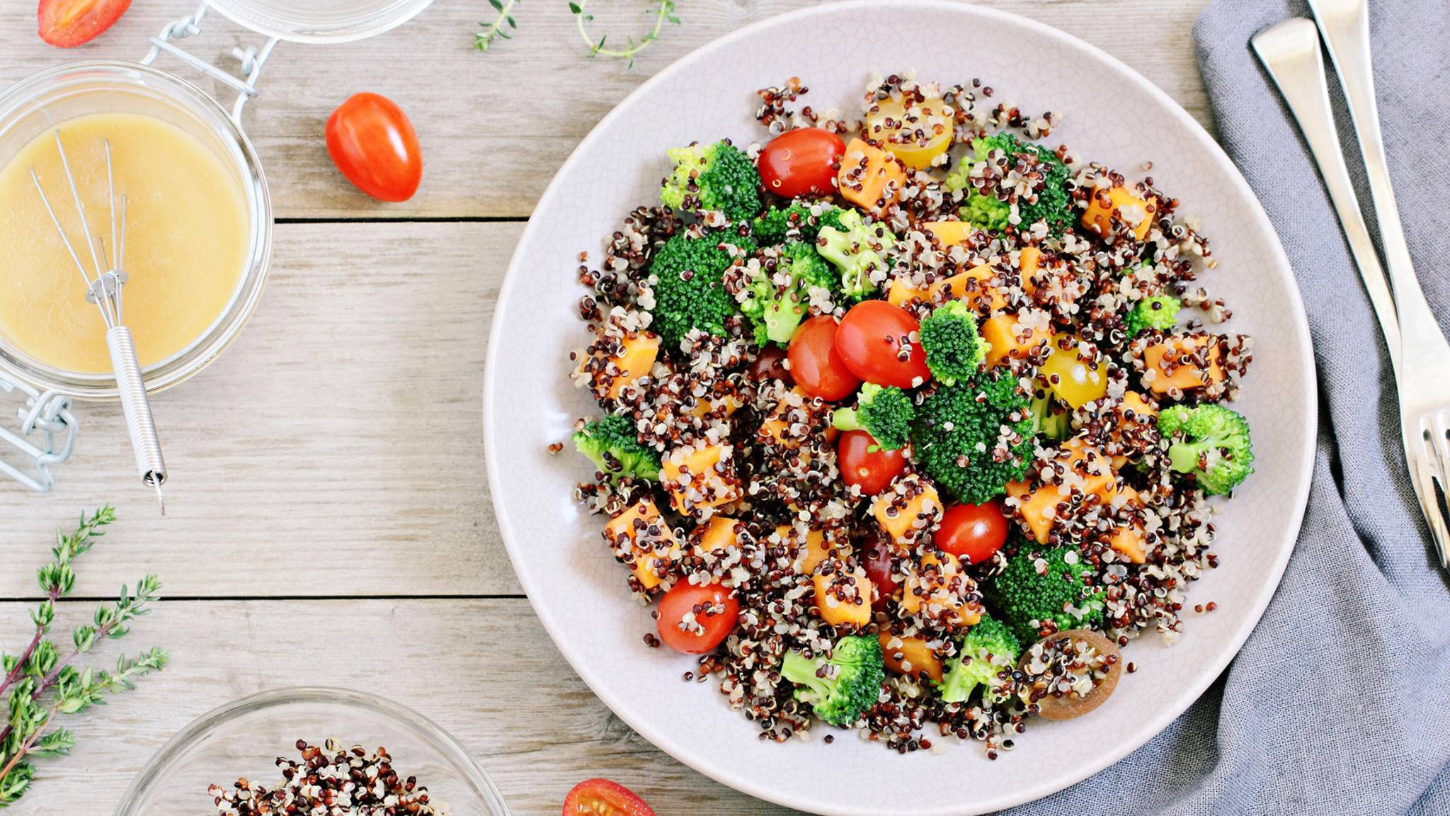 Quinoa ist als Zutat unglaublich vielseitig.
