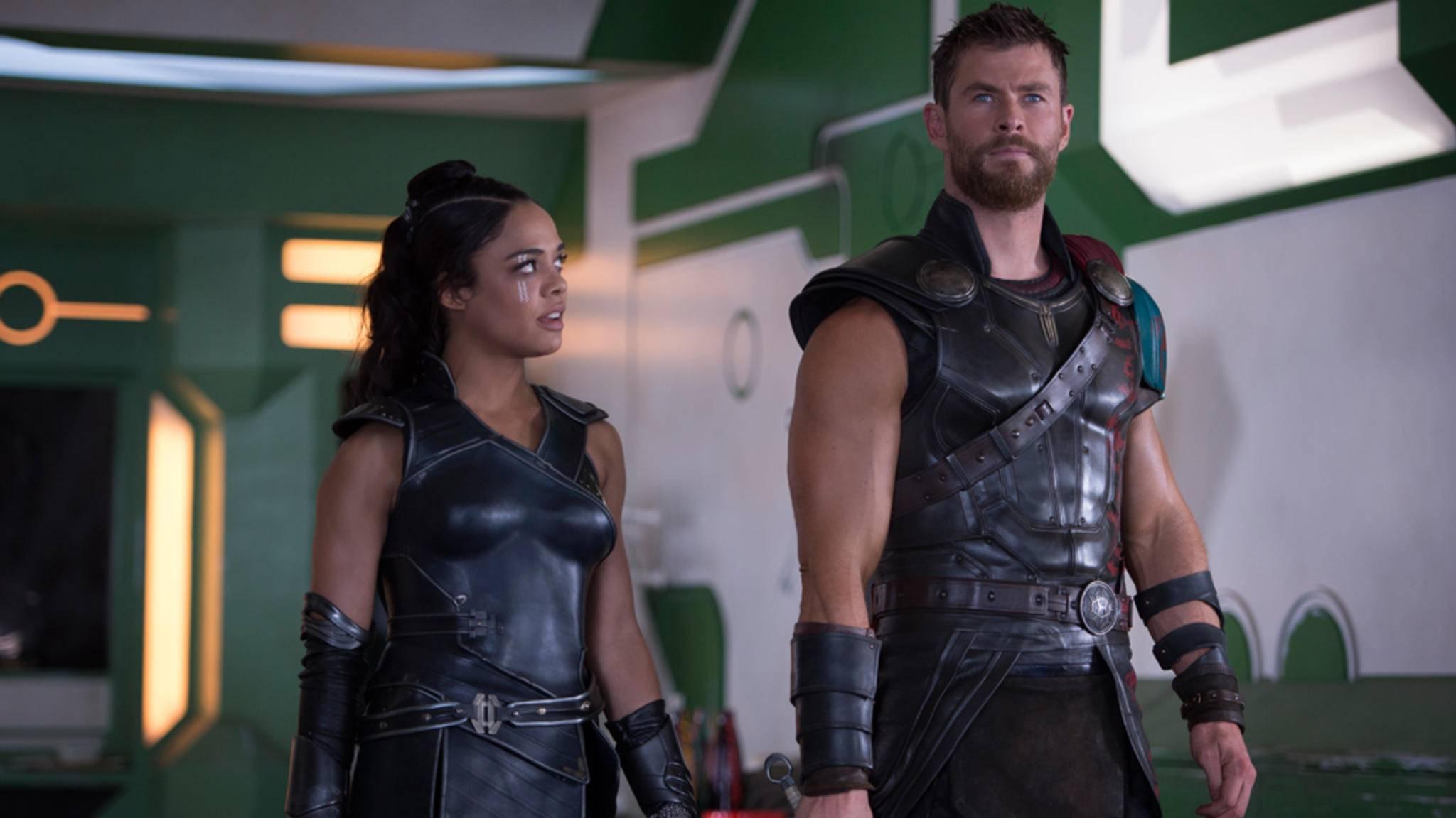 """Ist Valkyrie (links) die neue Frau an der Seite von Thor? Jane wird in """"Thor: Tag der Entscheidung"""" zumindest nicht mehr zu sehen sein."""