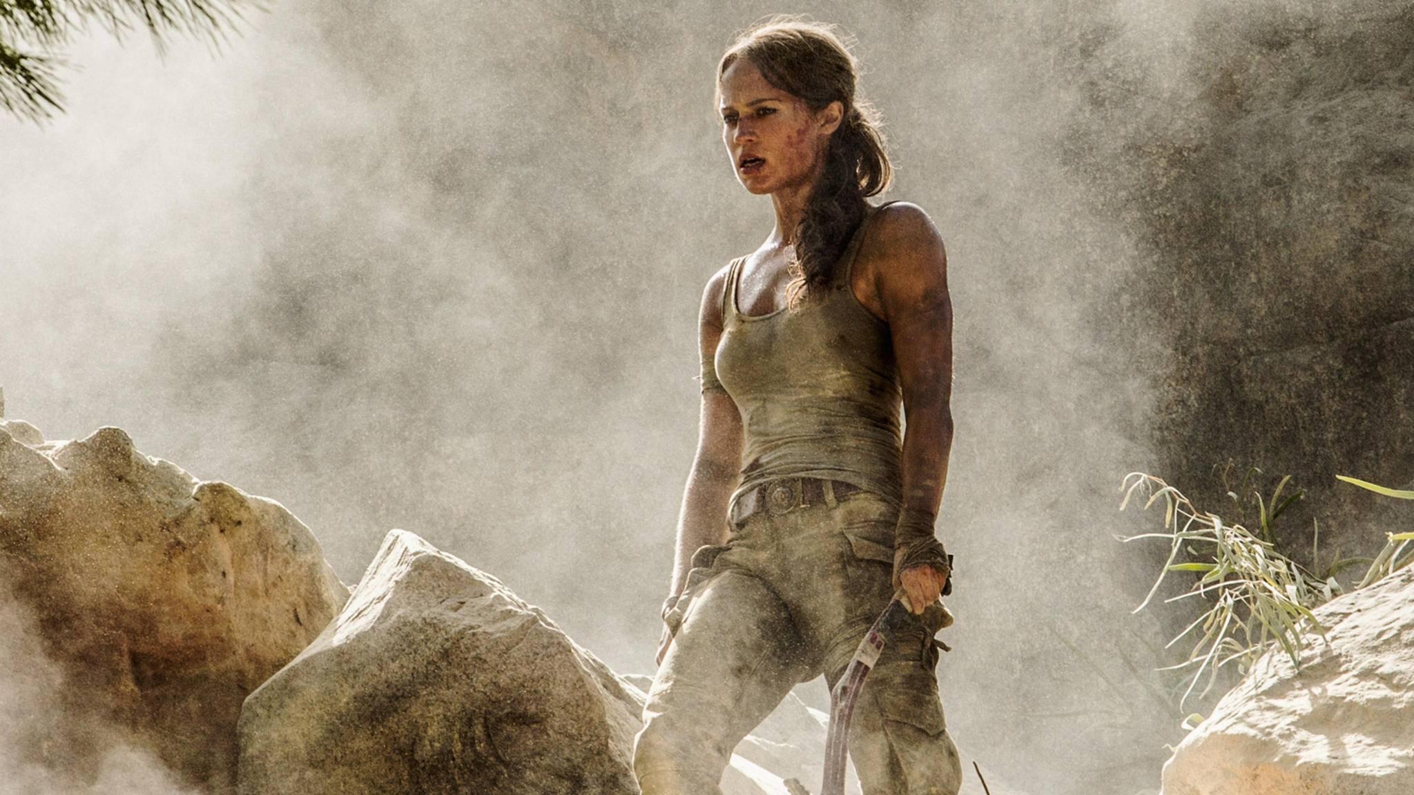"""""""Tomb Raider"""": Oscarpreisträgerin Alicia Vikander spielt Lara Croft."""