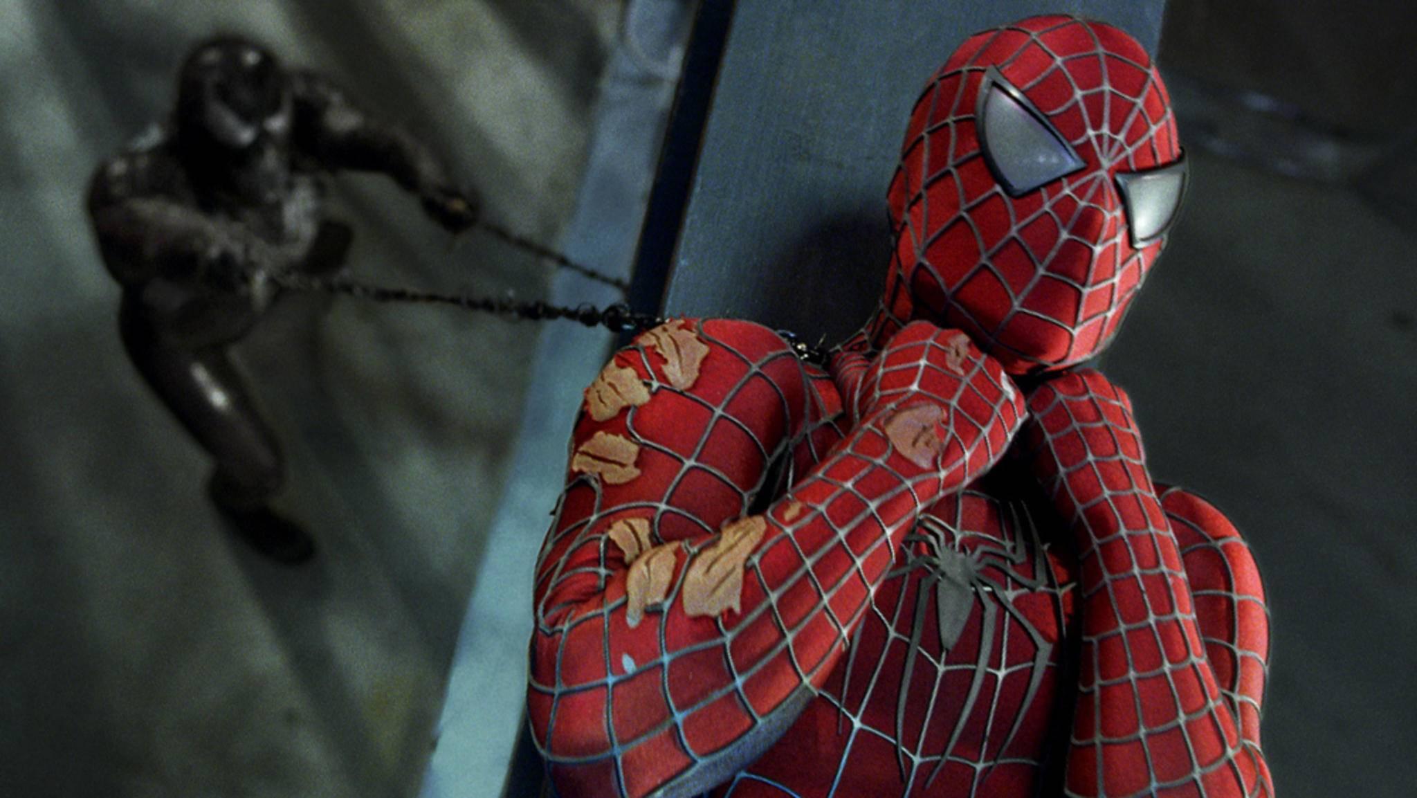 """Lange stand Venom als Rivale von Spider-Man (hier """"Spider-Man 3"""") nur im Hintergrund – jetzt bekommt der Alien-Symbiont seinen eigenen Film."""